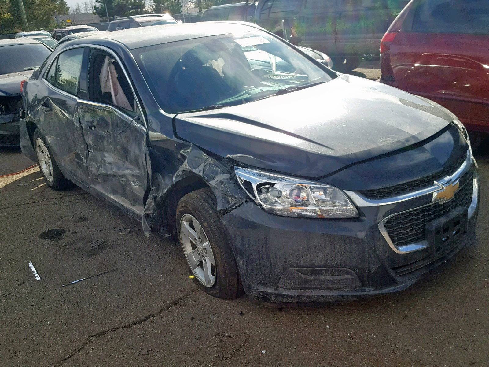 Salvage 2016 Chevrolet MALIBU LIMITED for sale