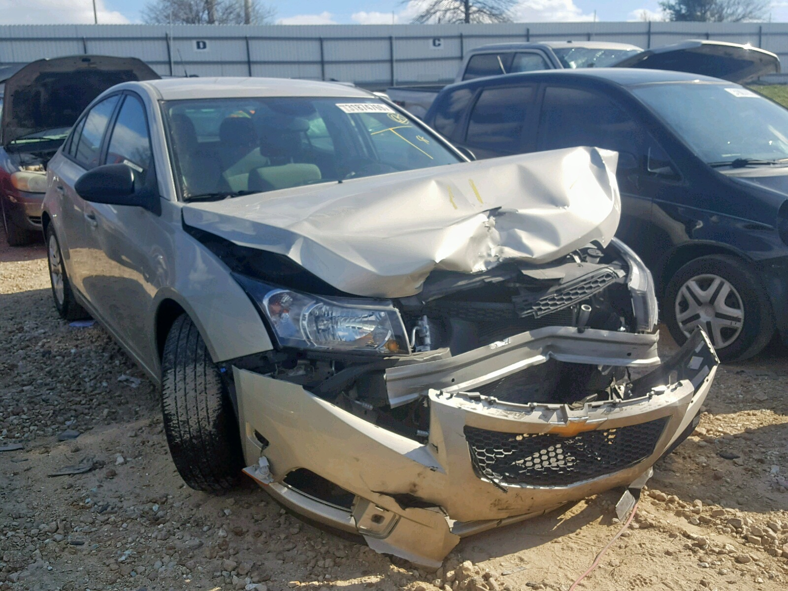 Salvage 2014 Chevrolet CRUZE LS for sale