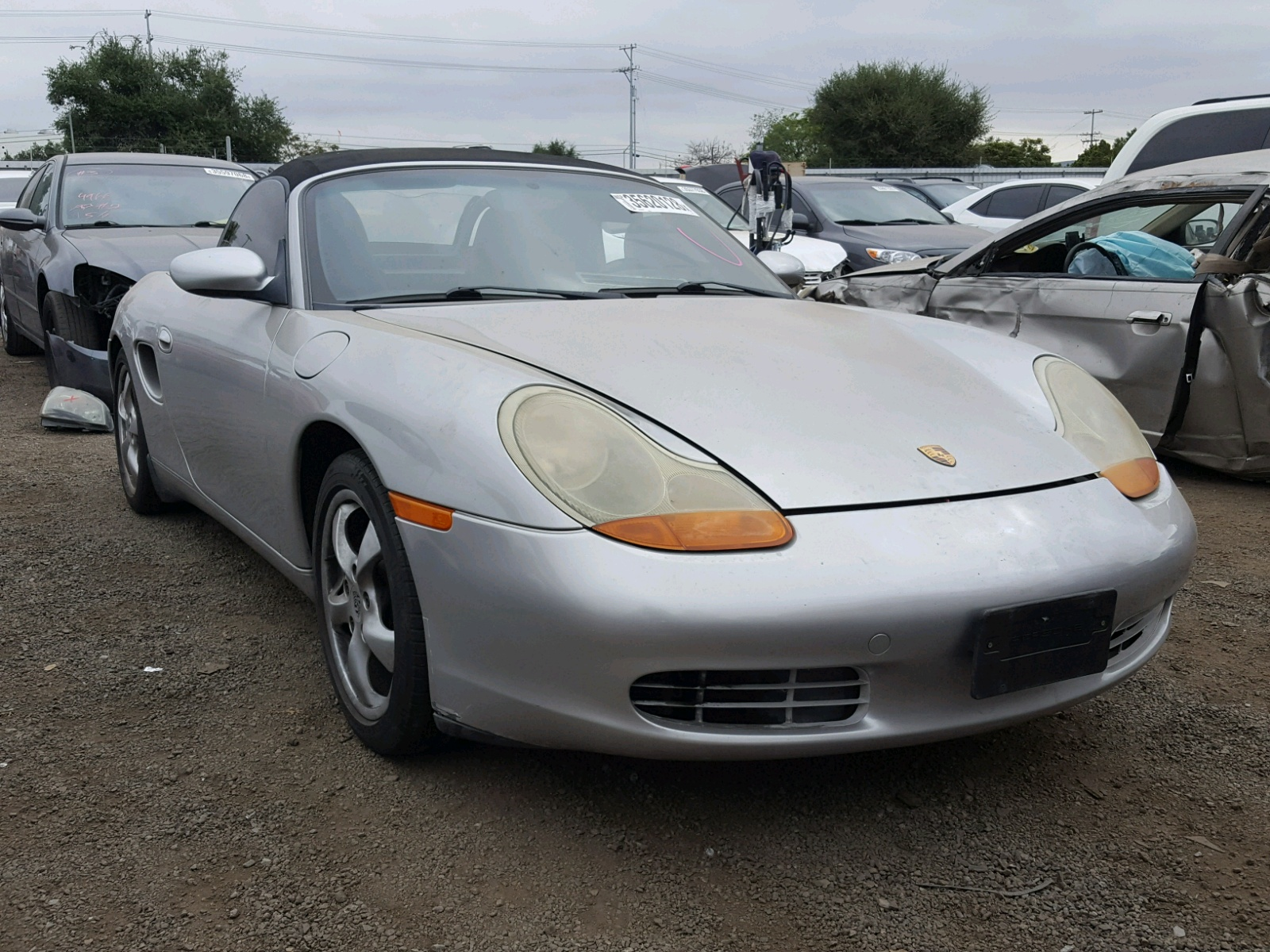 1999 porsche boxster for sale at copart san diego ca lot. Black Bedroom Furniture Sets. Home Design Ideas