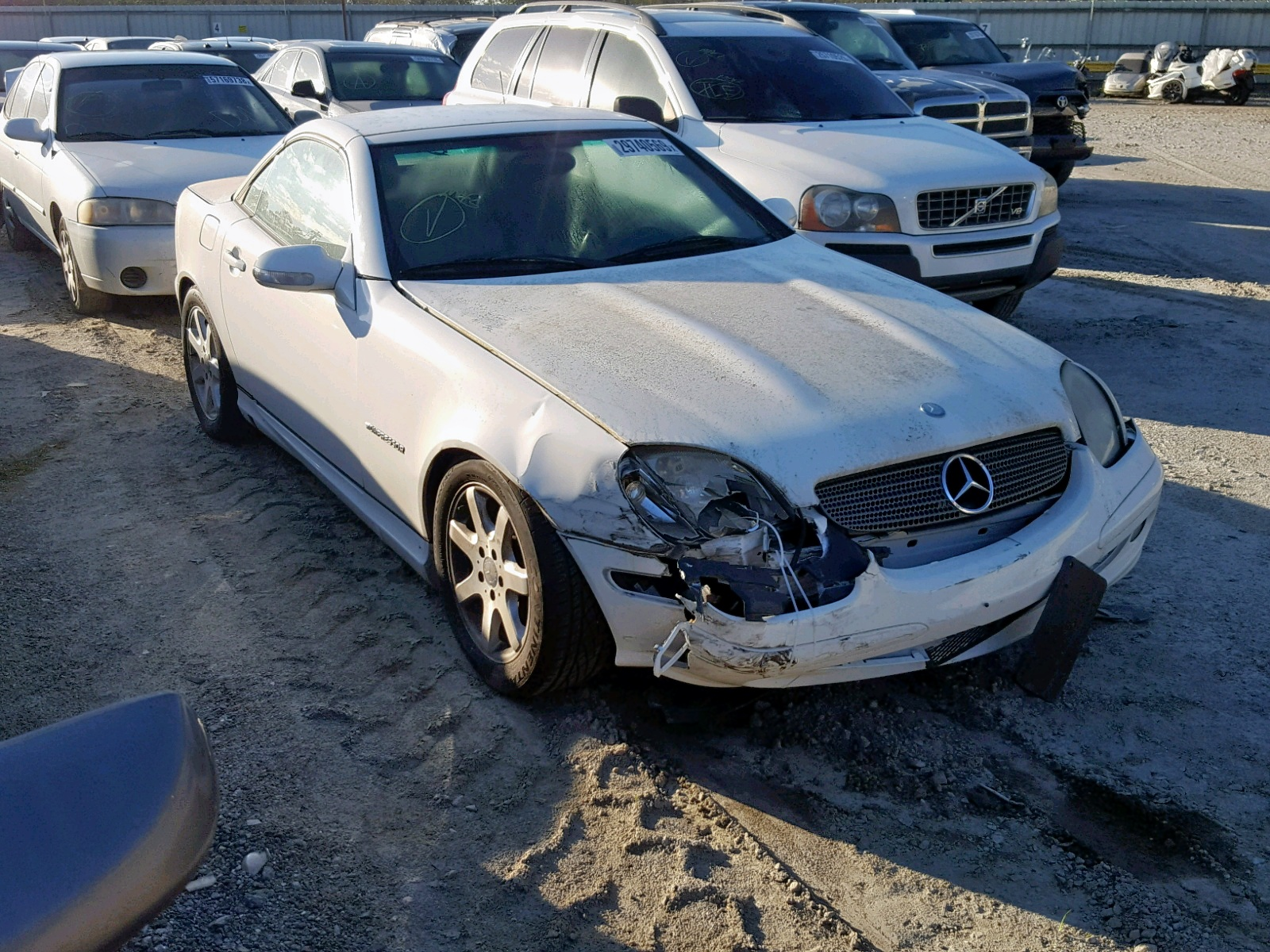 2002 Mercedes Benz Slk 230 Ko 2 3l 4 In Ga Savannah