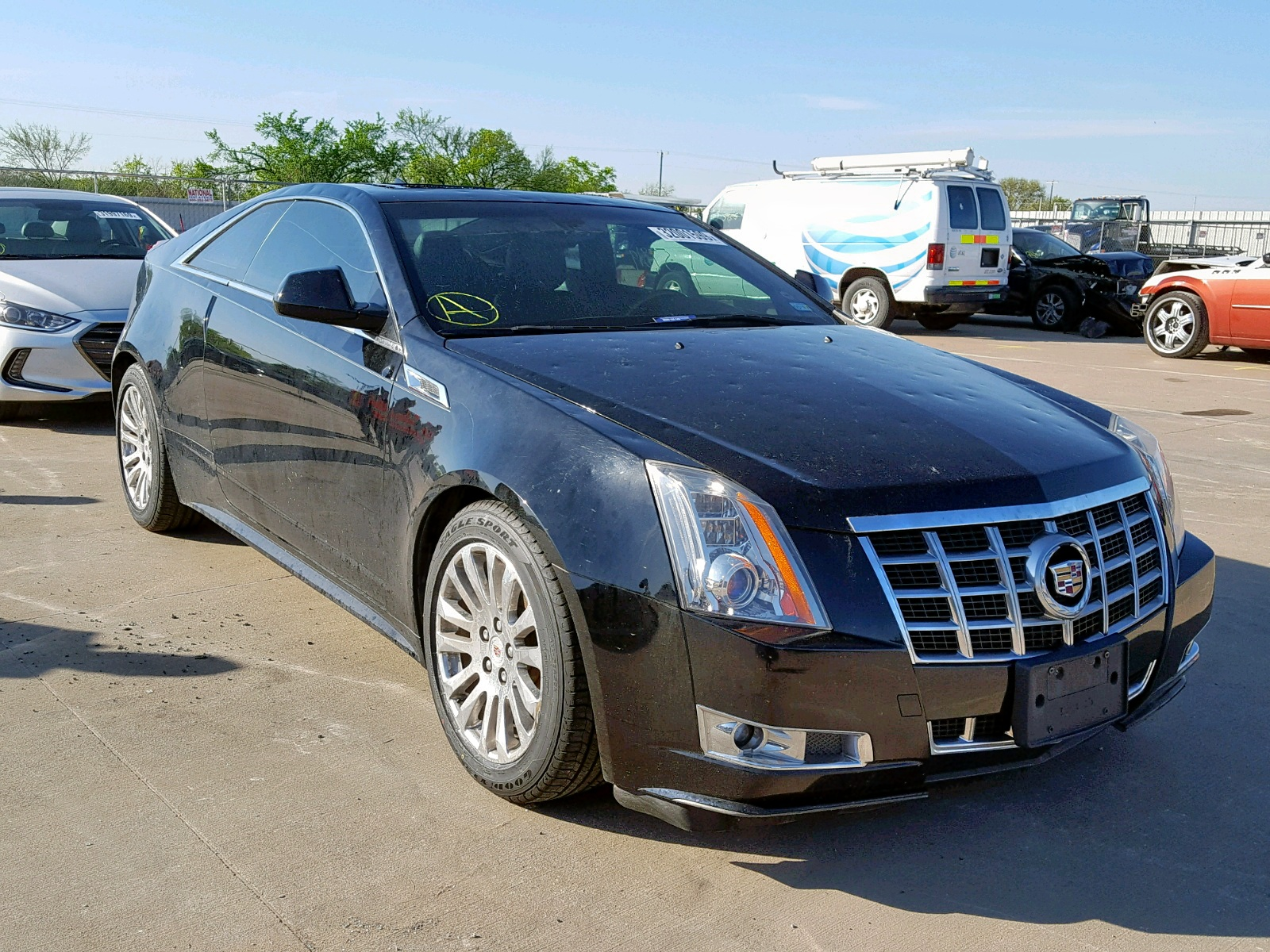 Salvage 2013 Cadillac CTS PREMIUM for sale