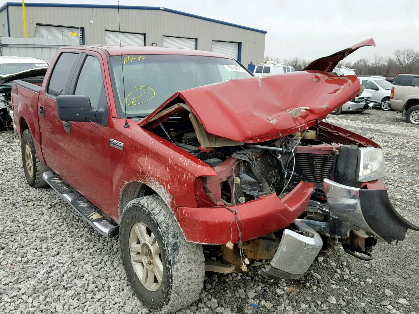 Salvage 2007 Ford F150 SUPER for sale