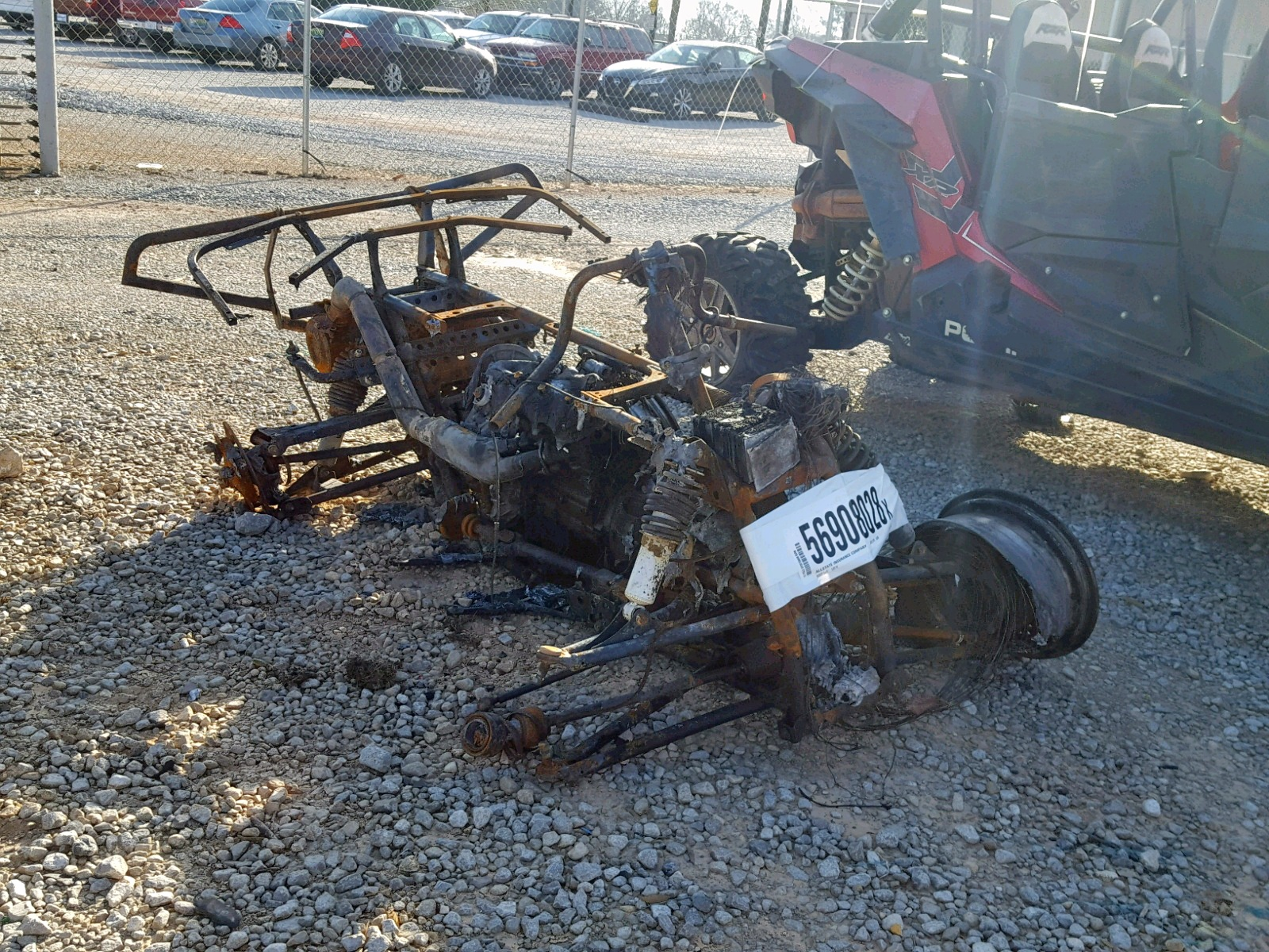 Salvage 2012 Polaris SPORTSMAN for sale