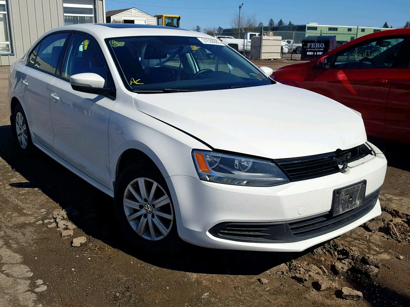 Salvage 2013 Volkswagen JETTA COMF for sale