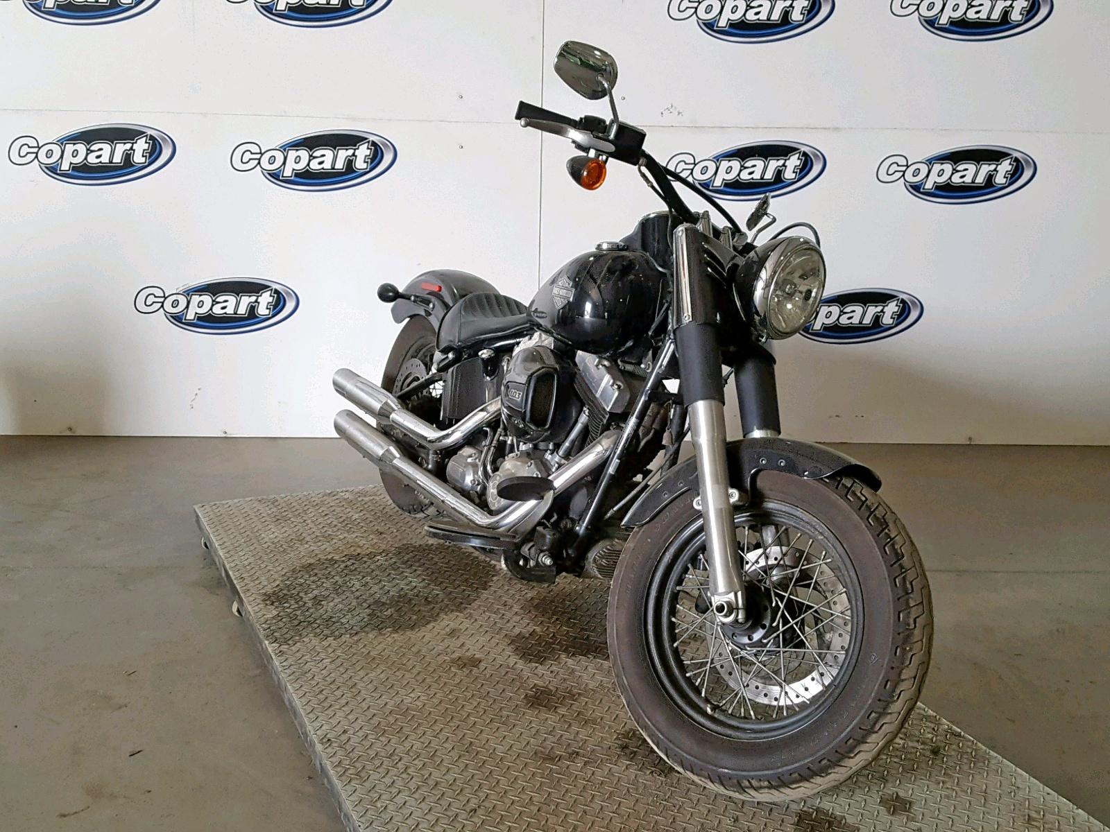 Salvage 2017 Harley-Davidson FLS SOFTAI for sale