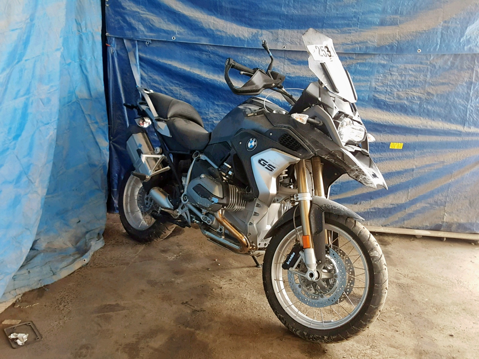 Salvage 2018 BMW R1200 GS for sale