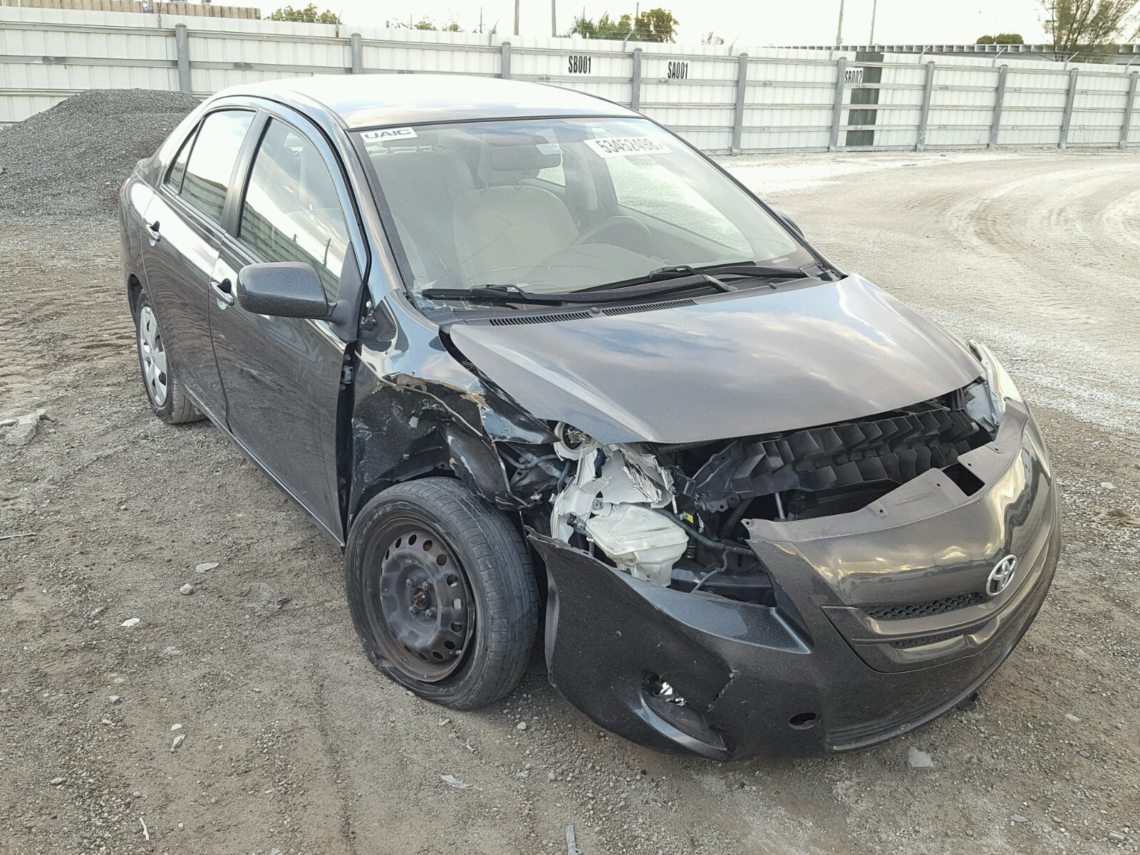 Salvage 2008 Toyota YARIS for sale