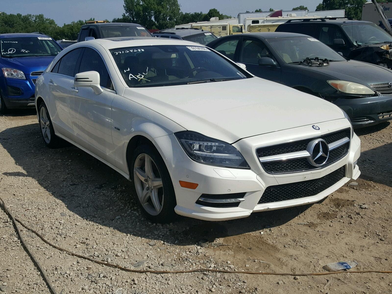 2012 Mercedes Benz CLS 550 4M