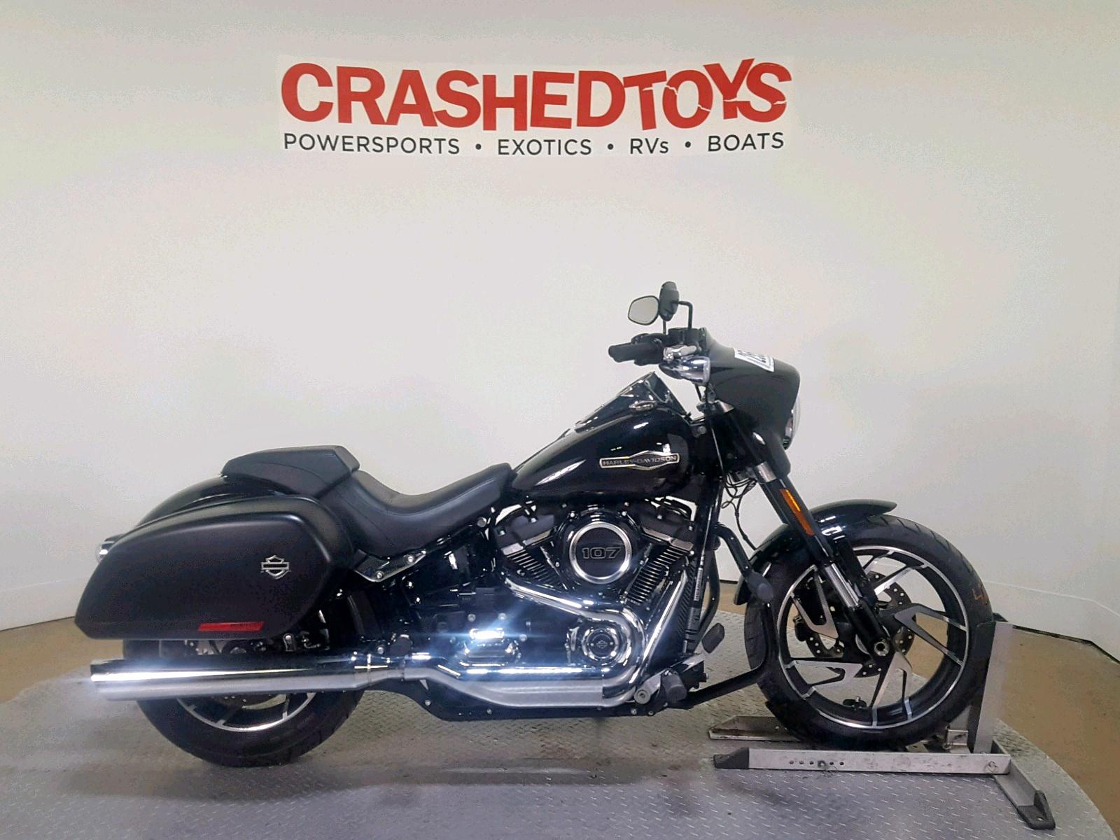 Salvage 2018 Harley-Davidson FLSB SPORT for sale