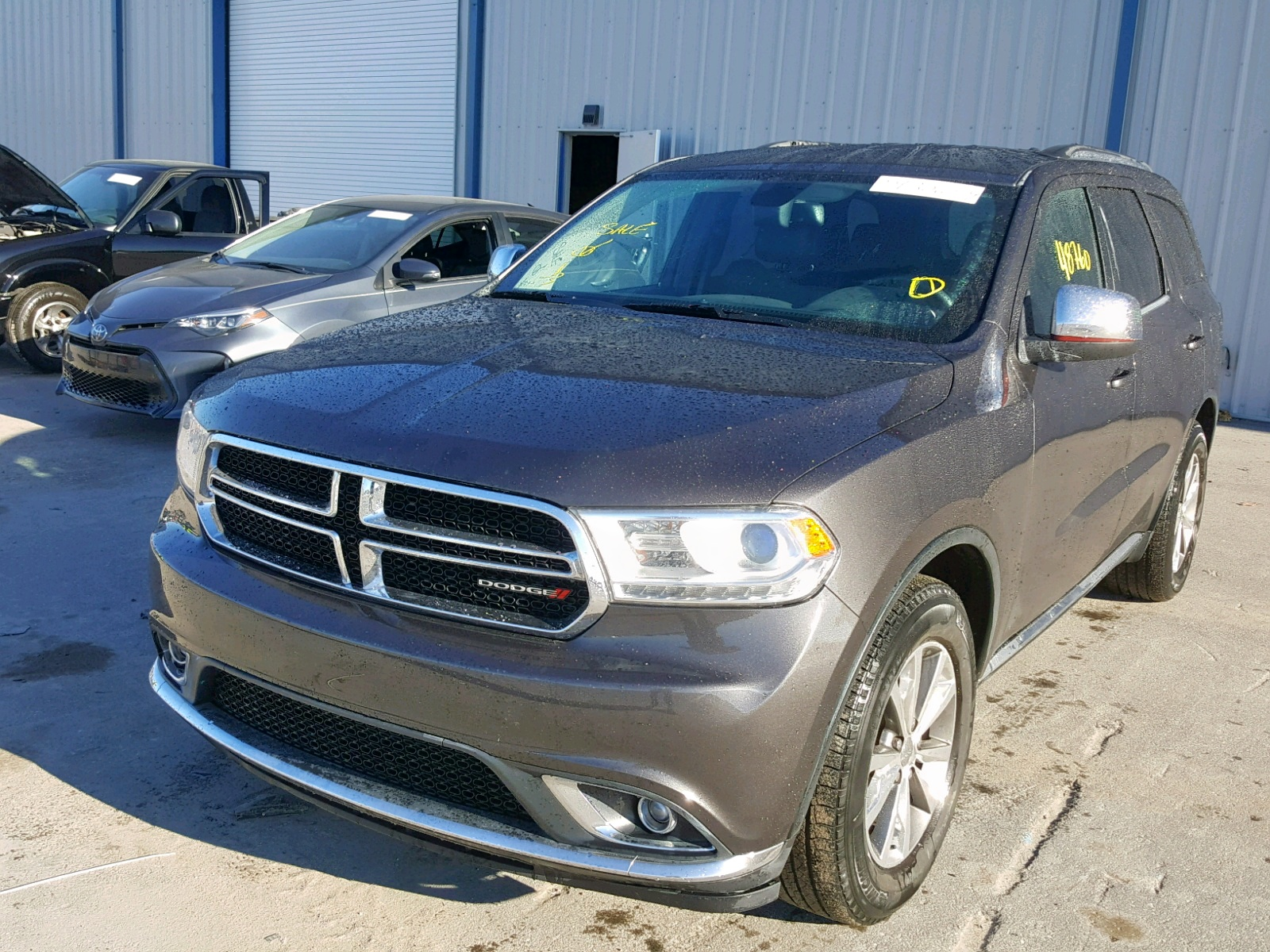 1C4RDHDG9FC883718 - 2015 Dodge Durango Li 3.6L Right View