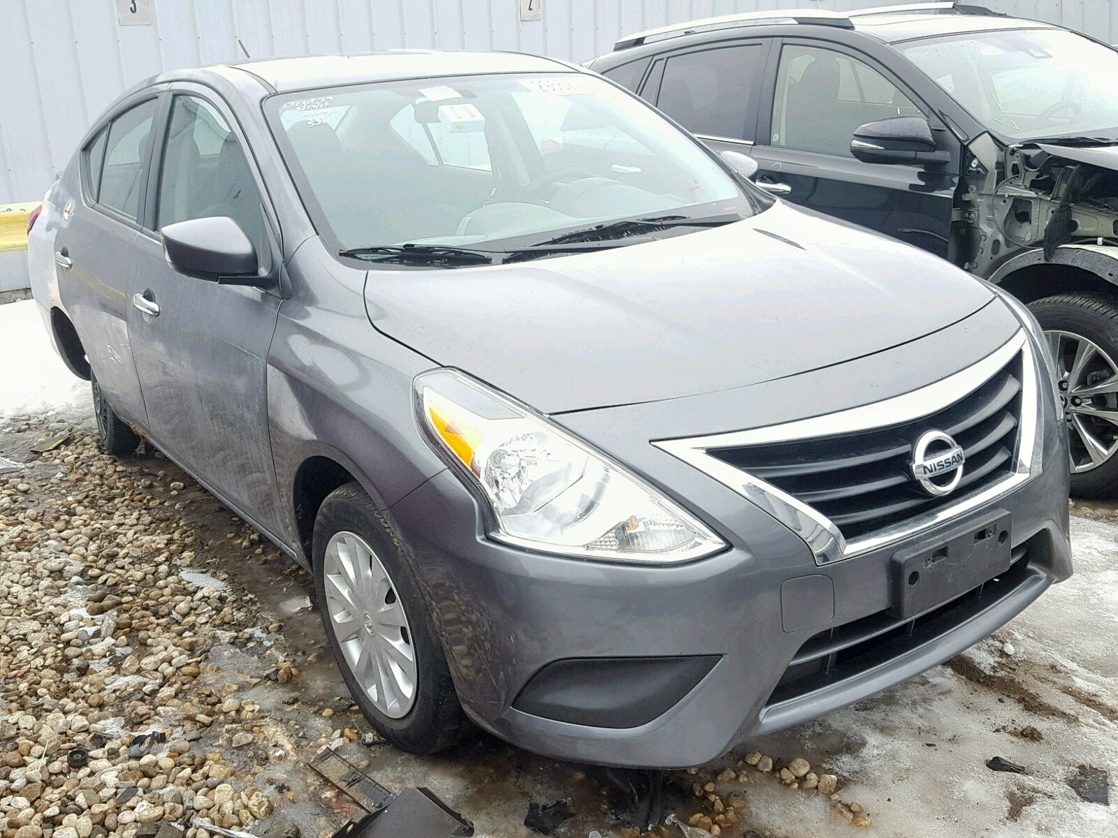 Salvage 2017 Nissan VERSA S for sale