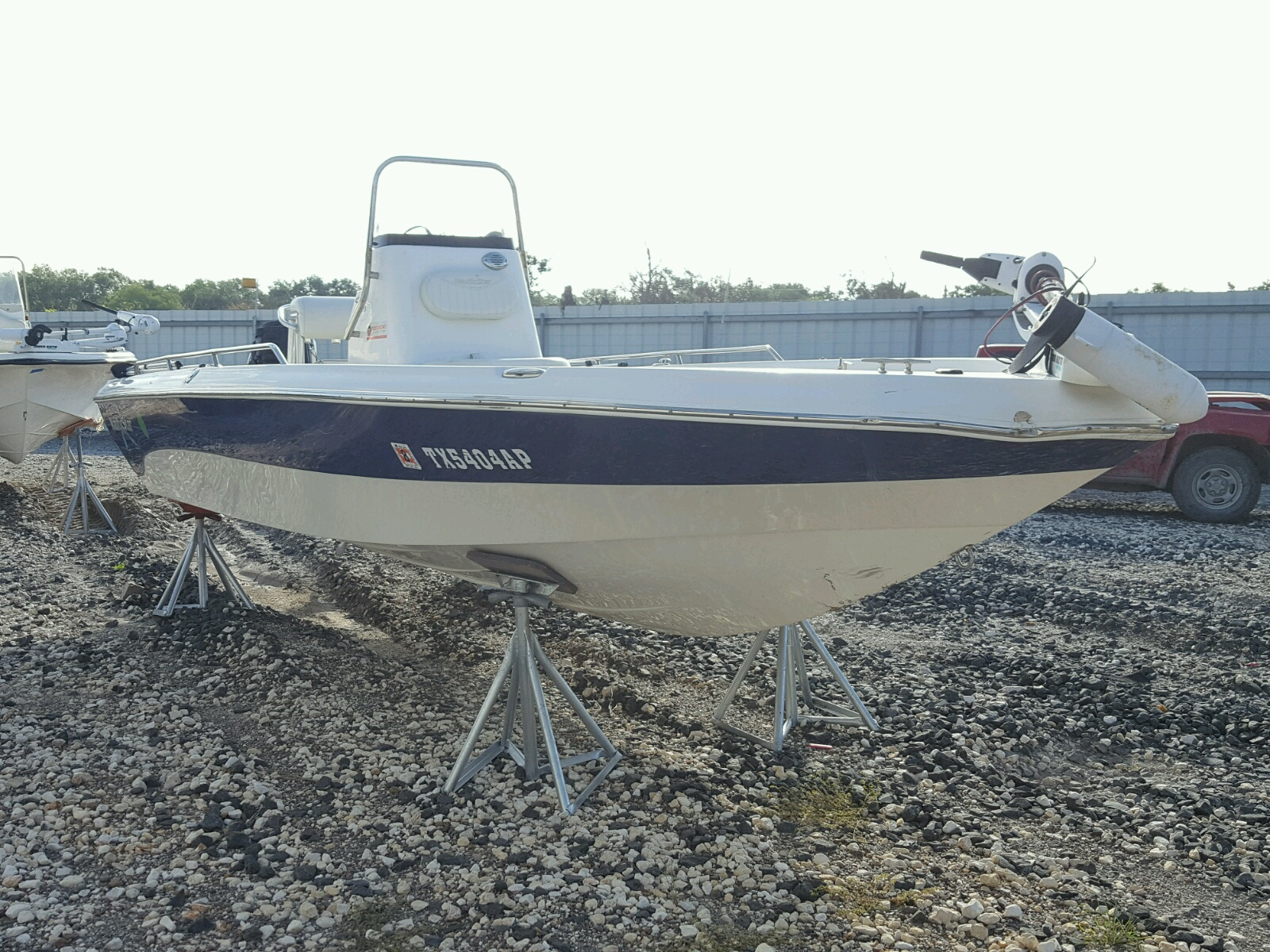 Salvage 2008 Nauticstar BOAT for sale