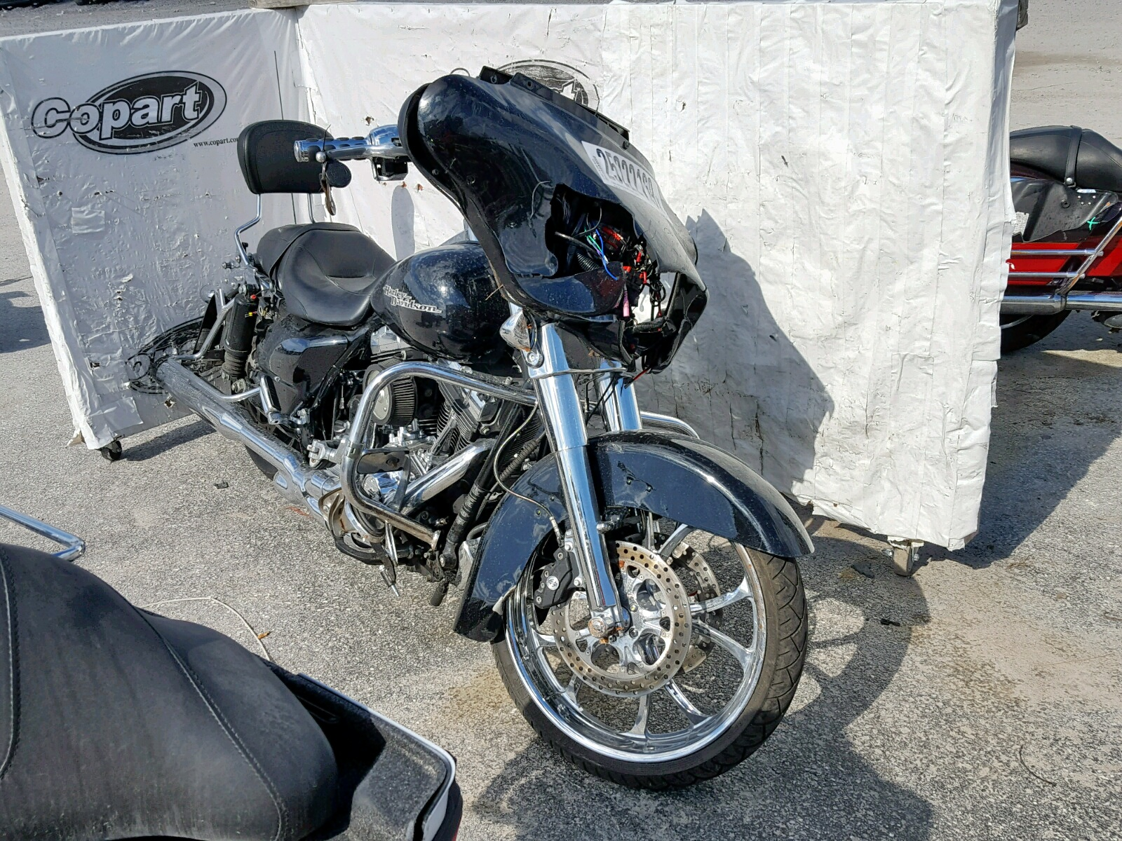 Salvage 2013 Harley-Davidson FLHX STREET for sale