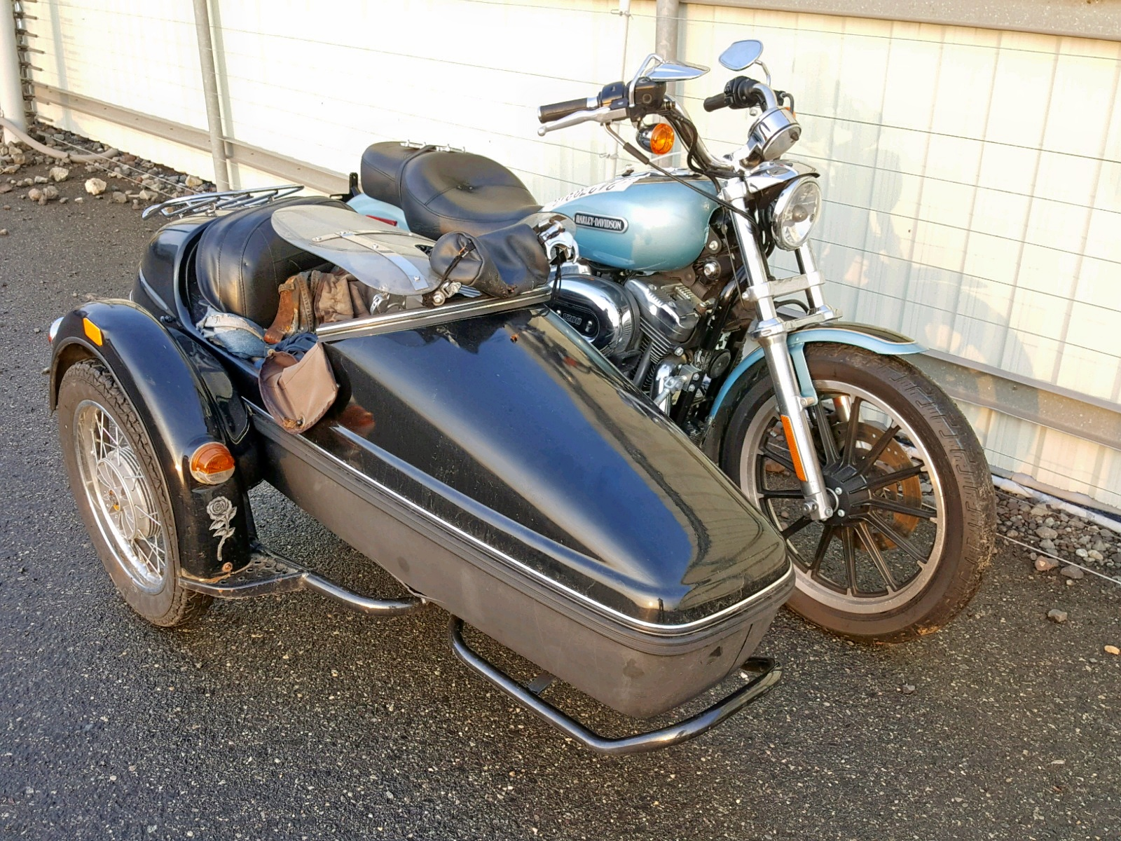 Salvage 2007 Harley-Davidson XL1200 L for sale