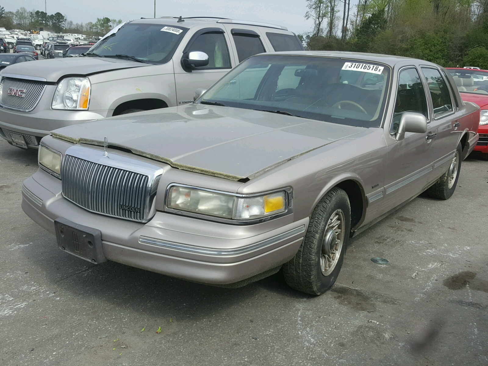 for palm fl lot town cars at copart beach s car sale west lincoln