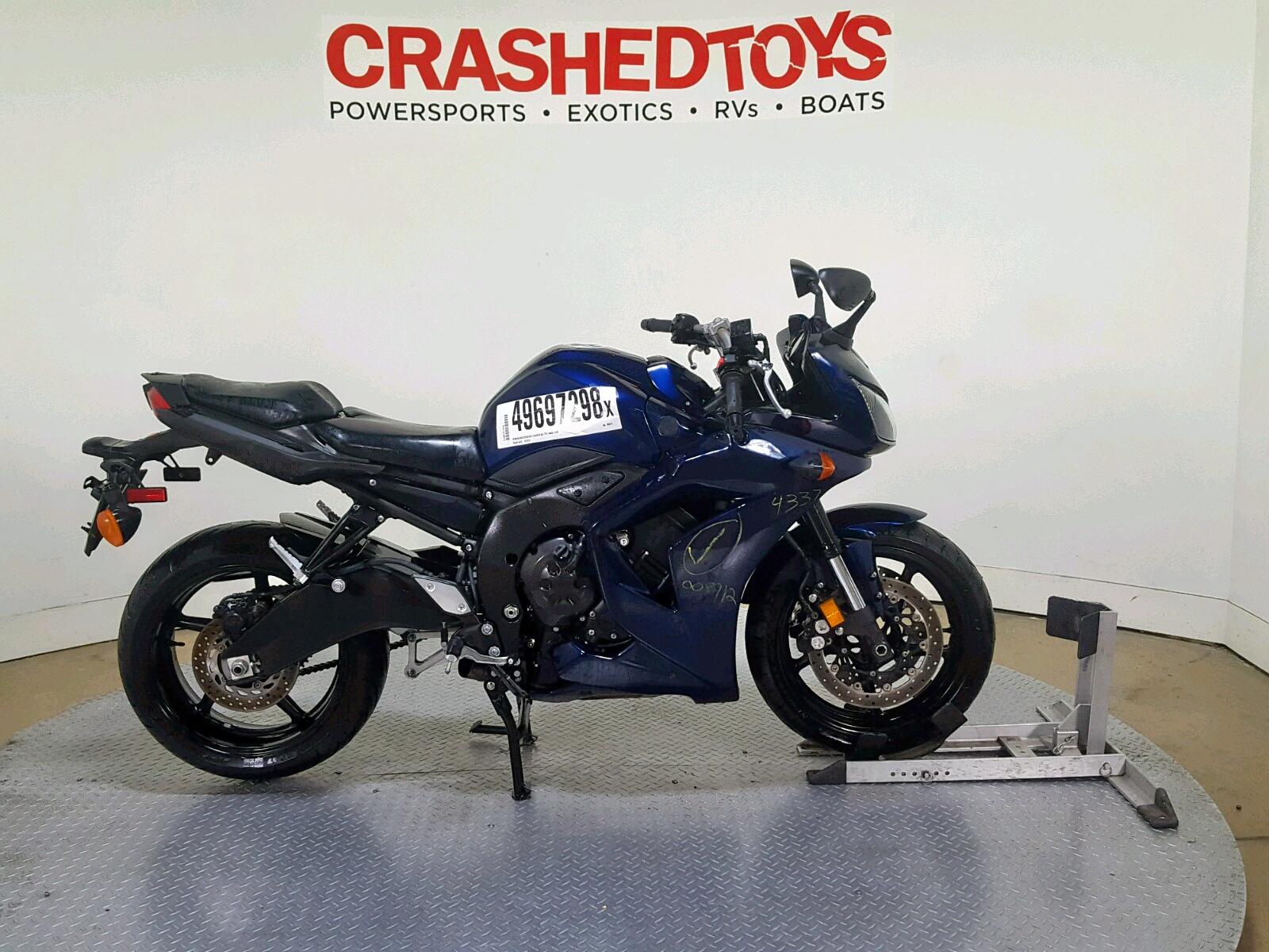Salvage 2013 Yamaha FZ1 S for sale