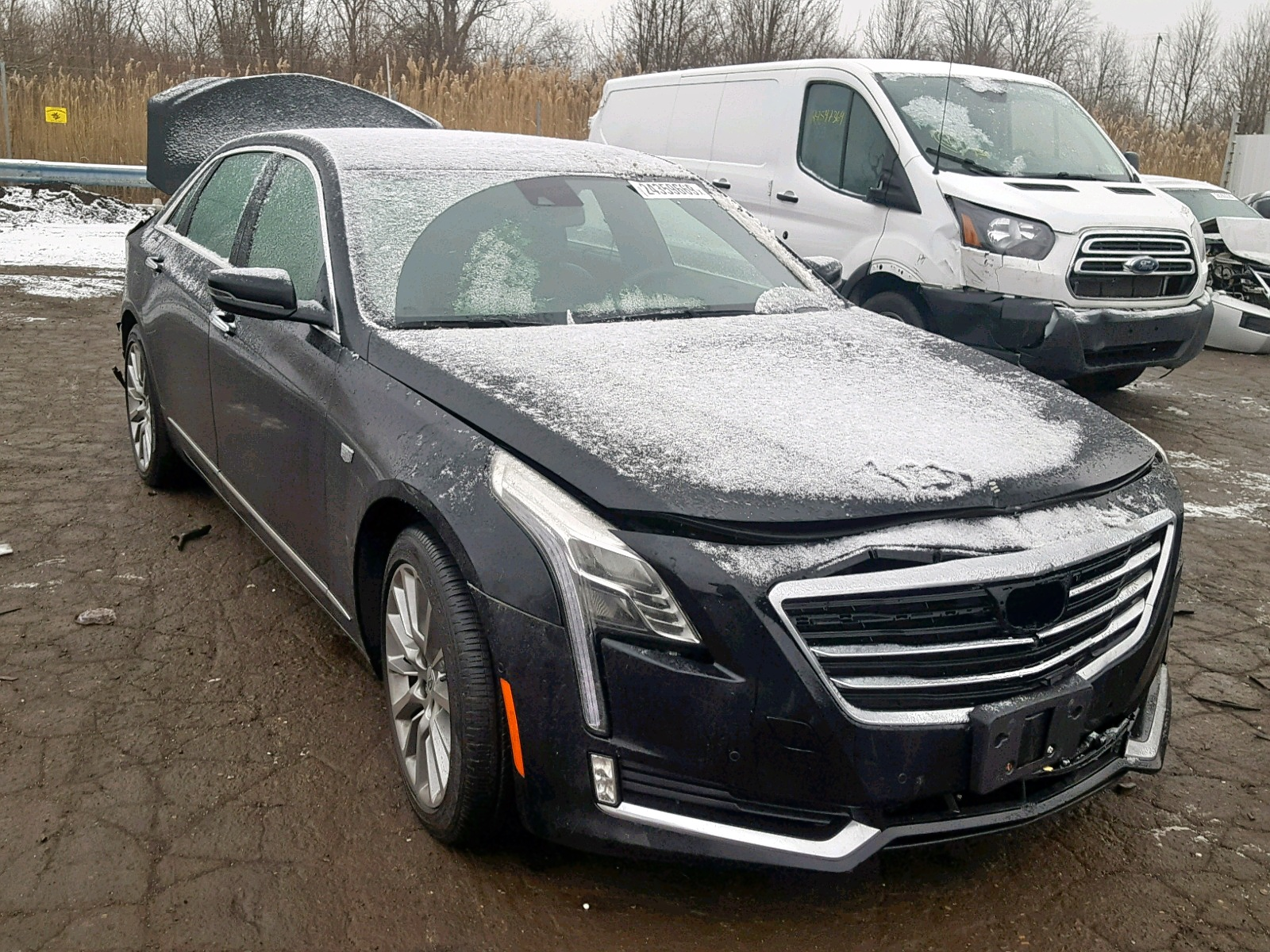 Salvage 2017 Cadillac CT6 LUXURY for sale