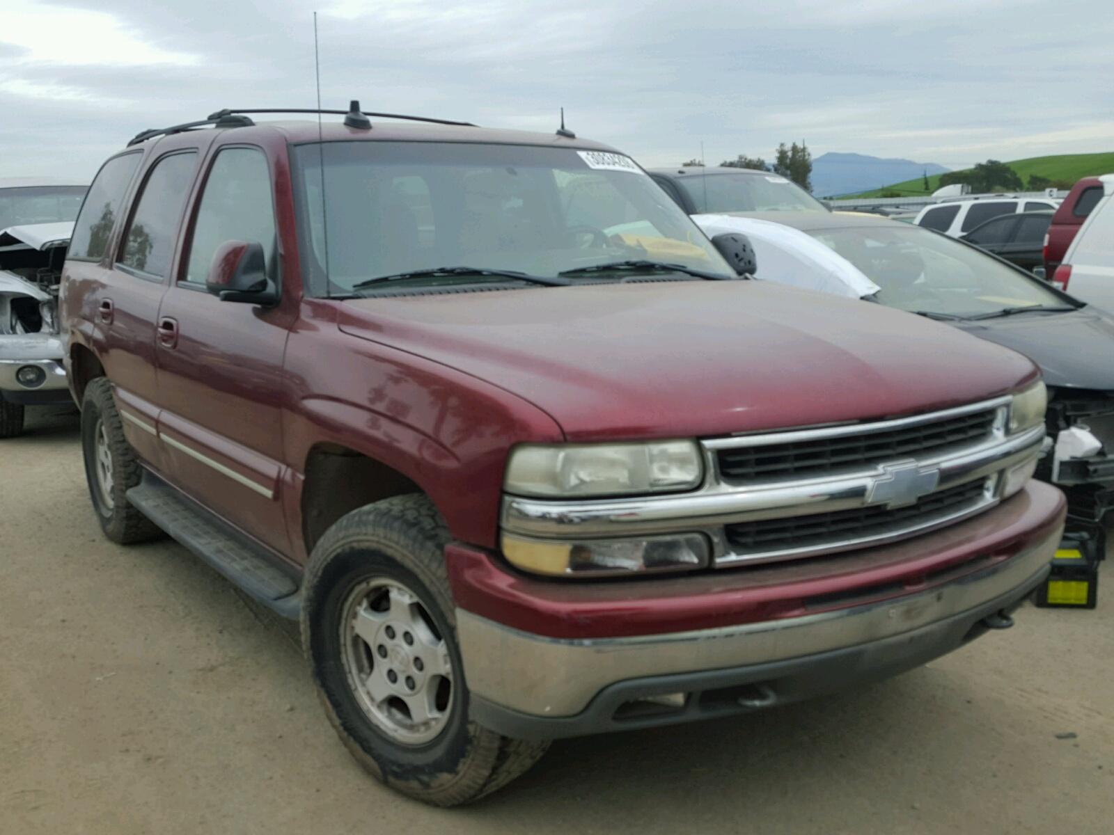 Auto Auction Ended on VIN 1GNEK13T53R 2003 CHEVROLET TAHOE