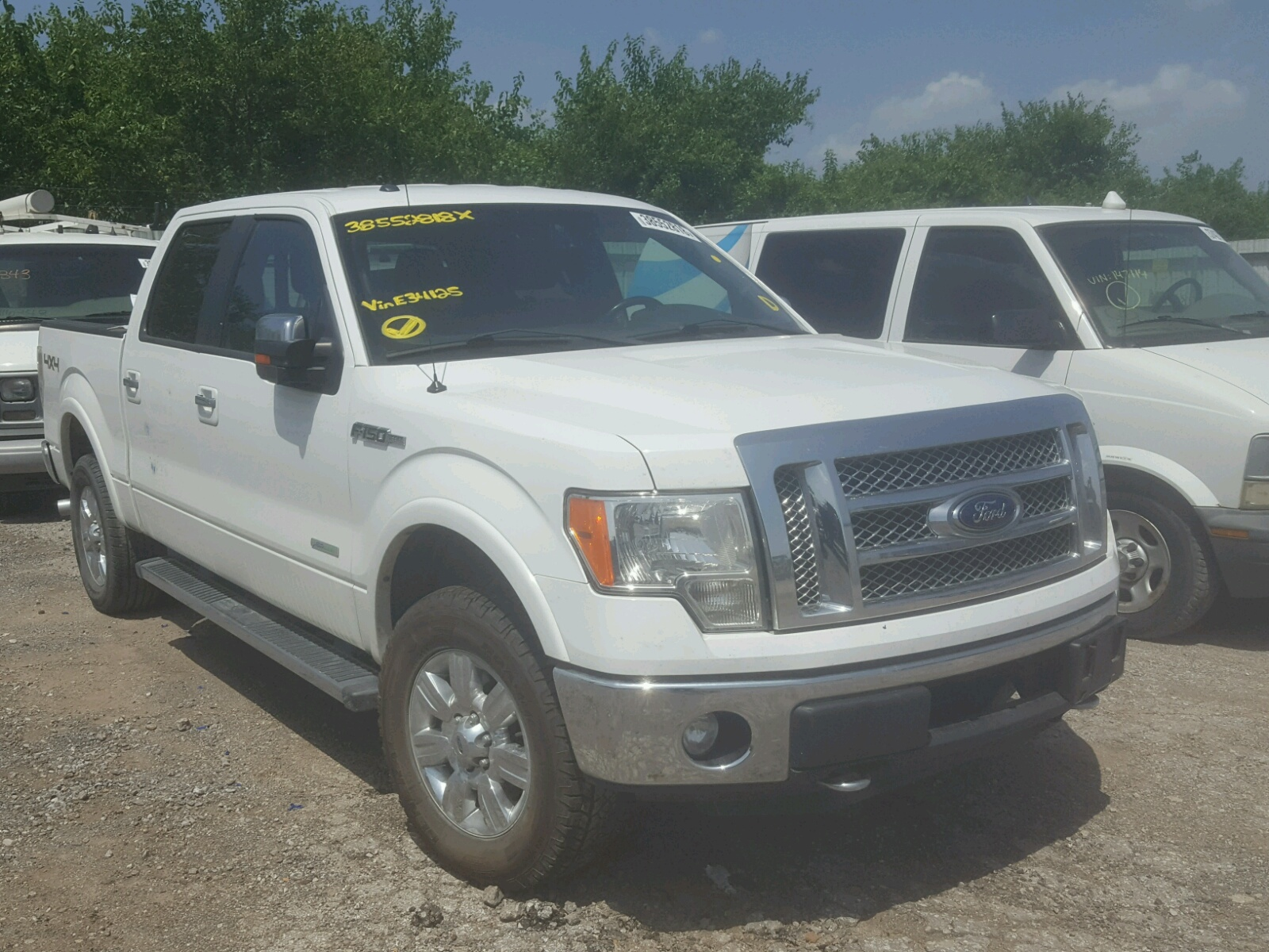 Salvage 2012 Ford F150 SUPER for sale