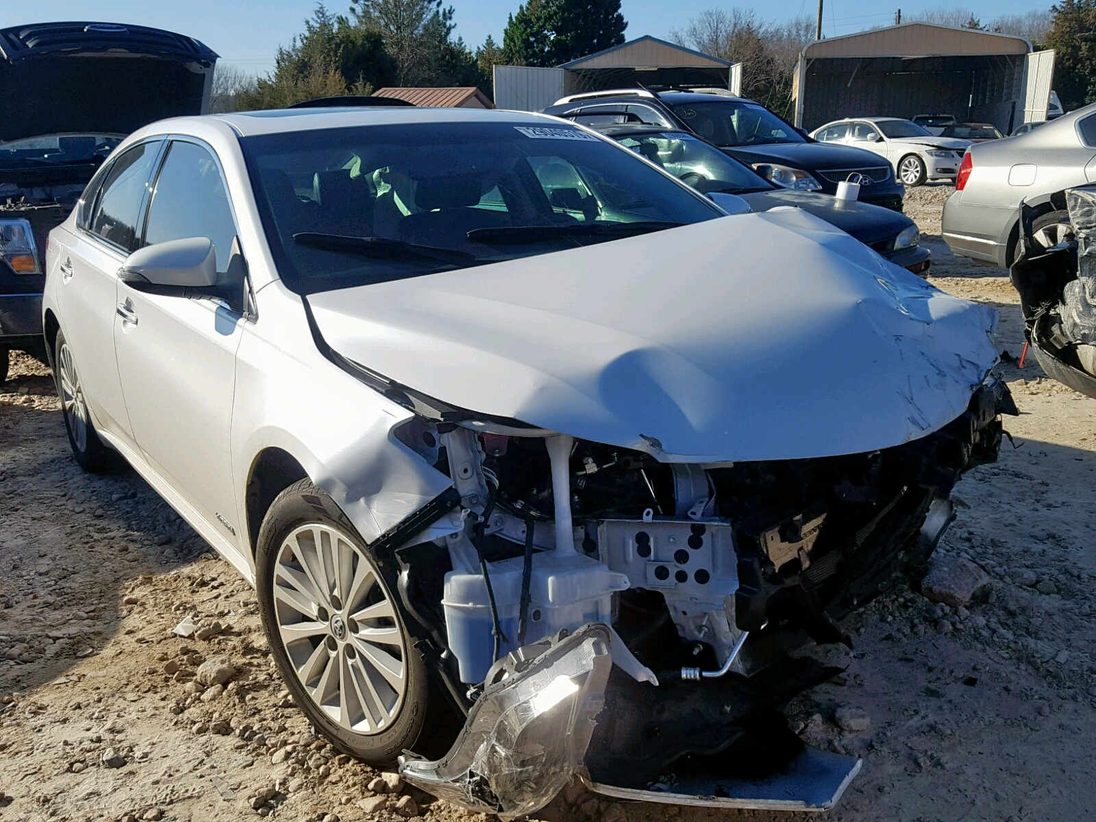 Salvage 2015 Toyota AVALON HYBRID for sale