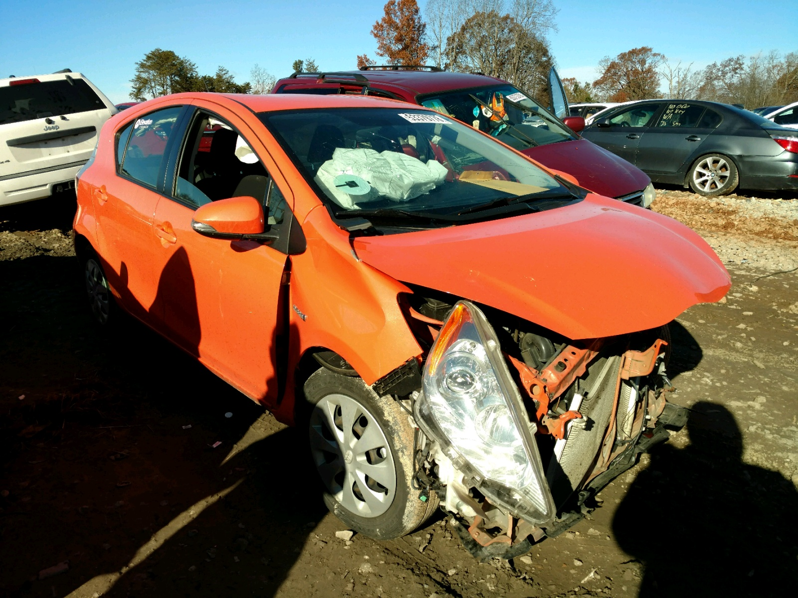 Salvage 2014 Toyota PRIUS C for sale