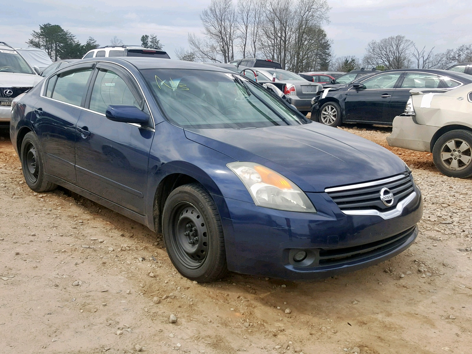 Salvage 2009 Nissan ALTIMA 2.5 for sale