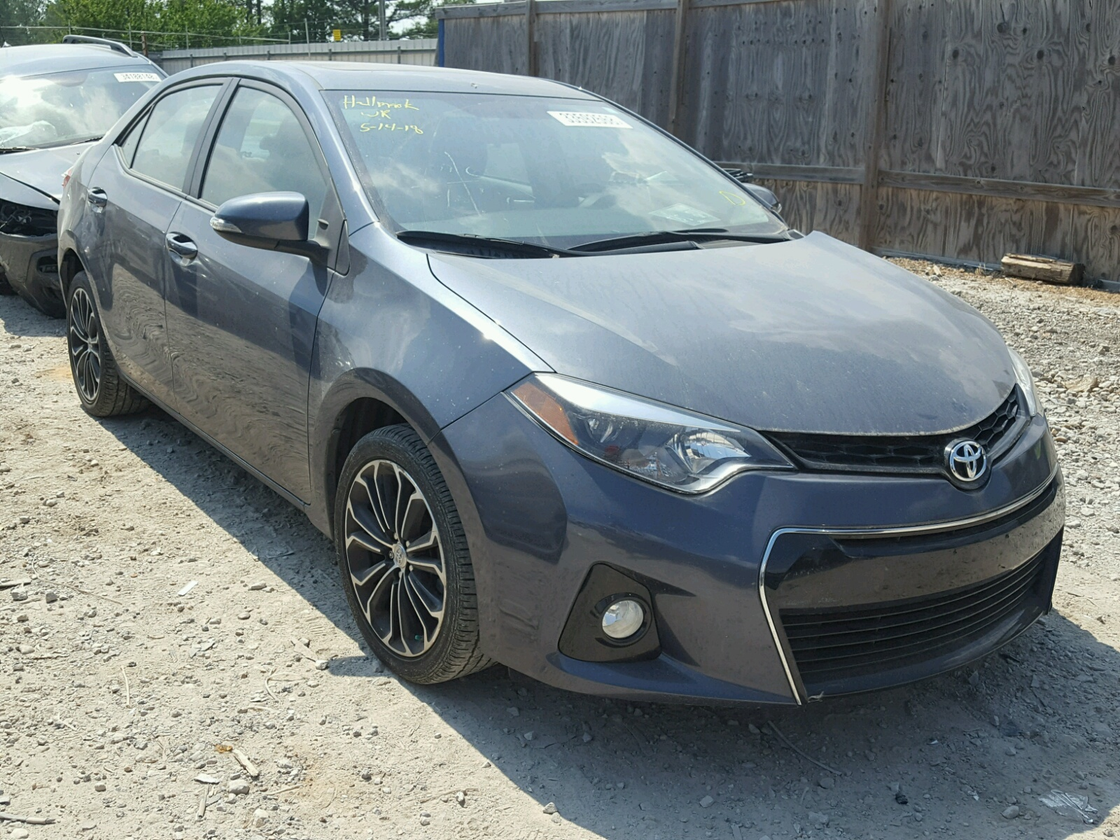 2014 Toyota Corolla L for sale at Copart Florence MS Lot