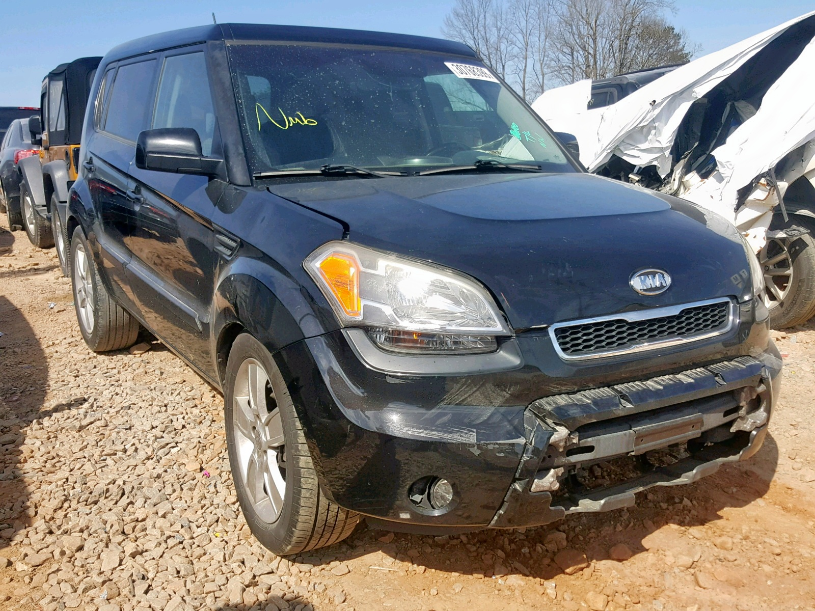 Salvage 2011 KIA SOUL + for sale
