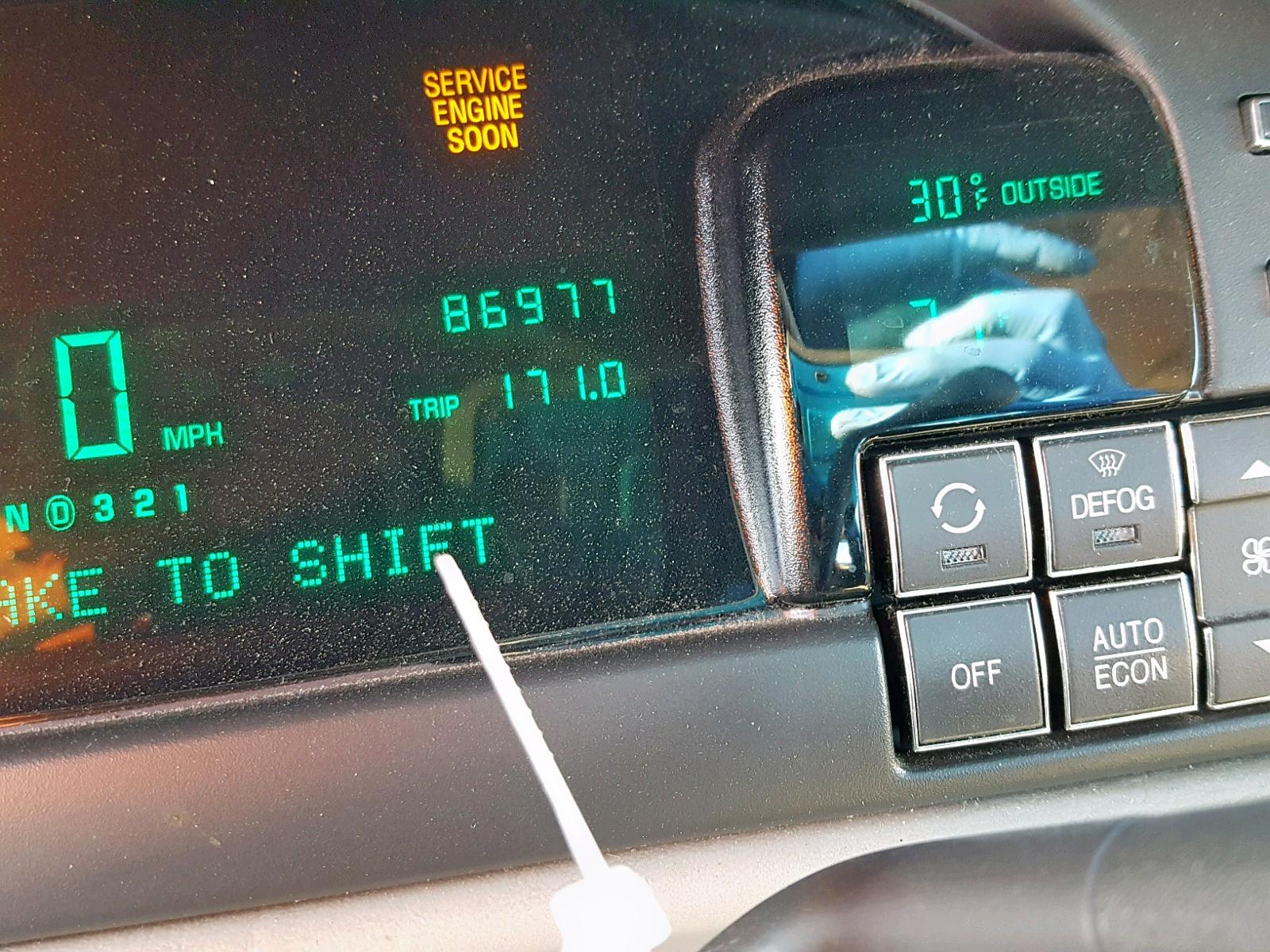 1g6kd54y0xu769033 1999 Cadillac Deville 4 6l Front View