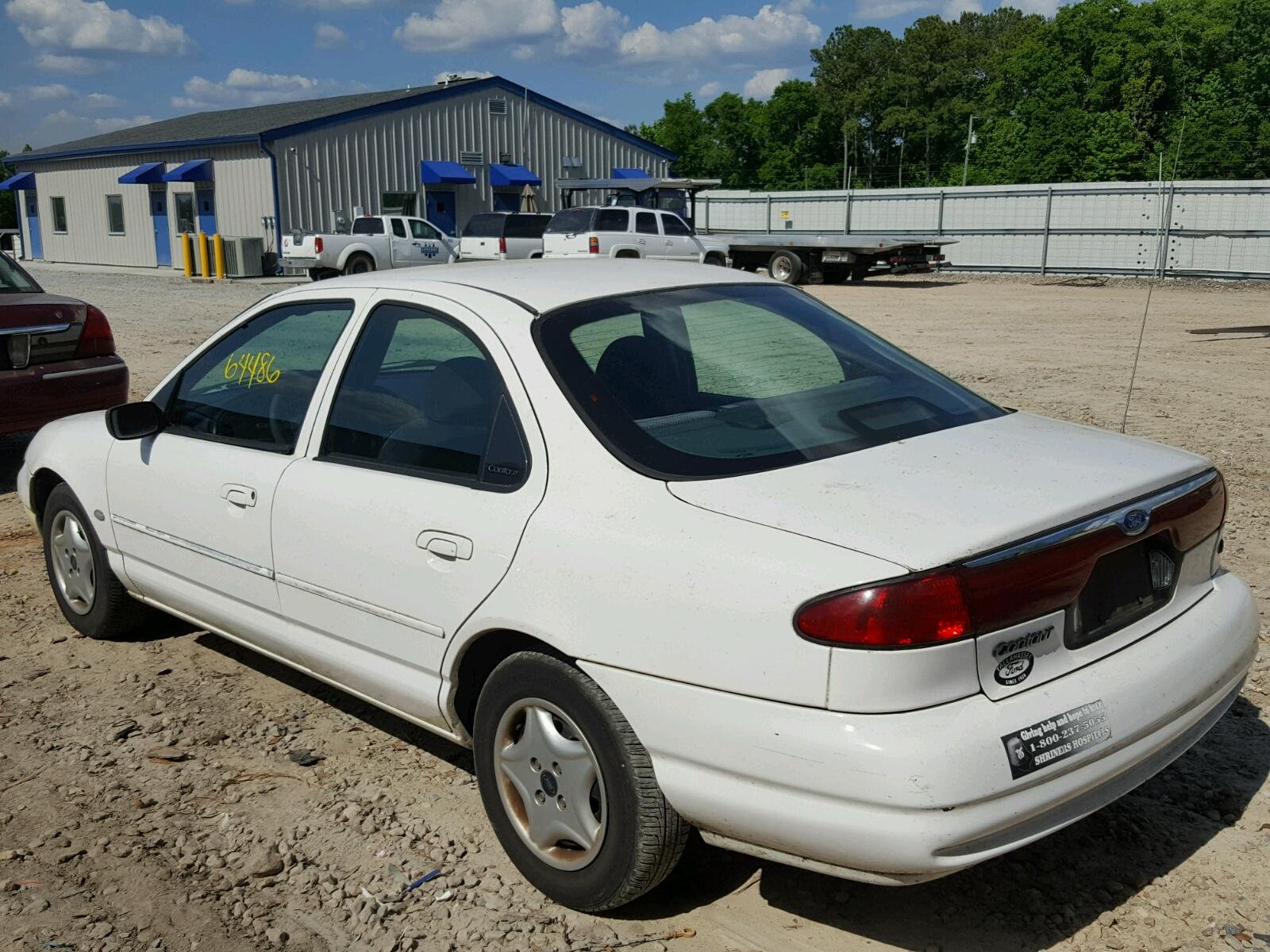 1998 ford contour ba lot 32941838