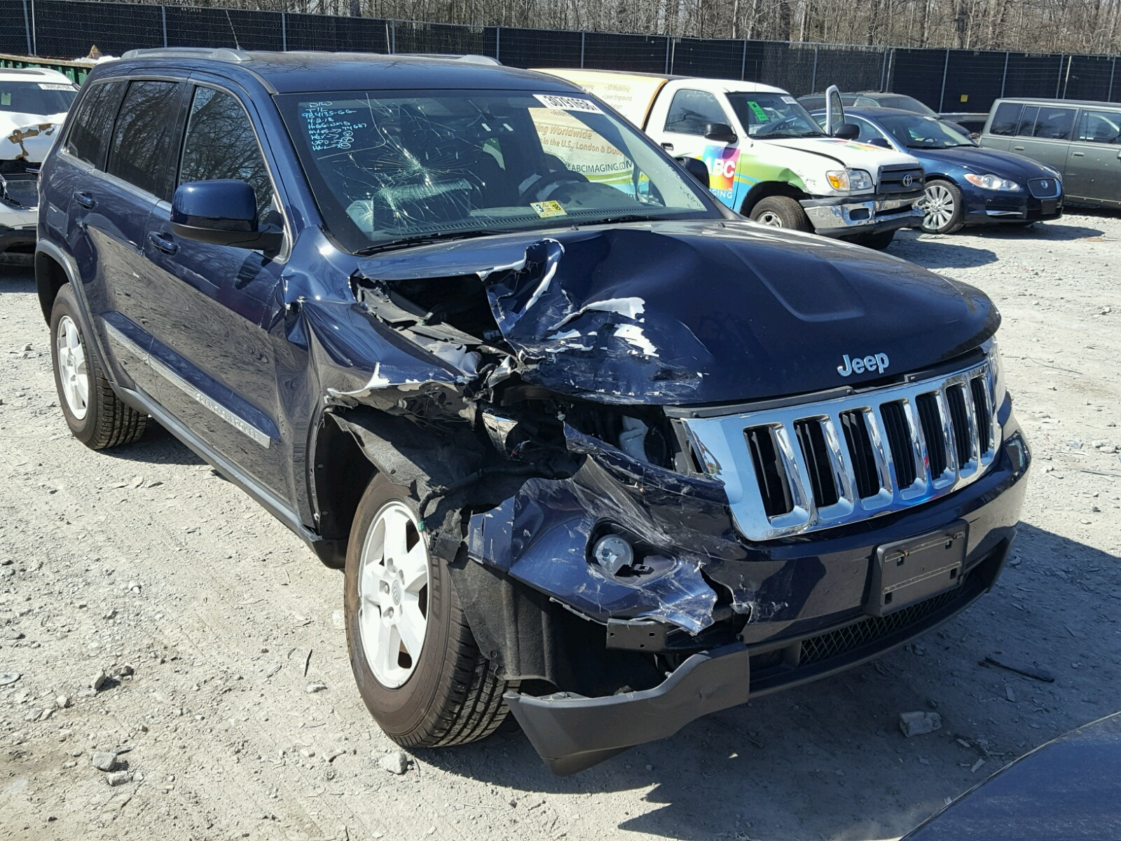 1C4RJFAG8CC270261 | 2012 BLUE JEEP GRAND CHER on Sale in DC ...