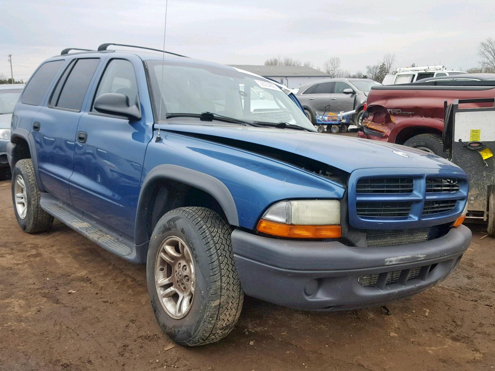 Salvage 2003 Dodge DURANGO SP for sale