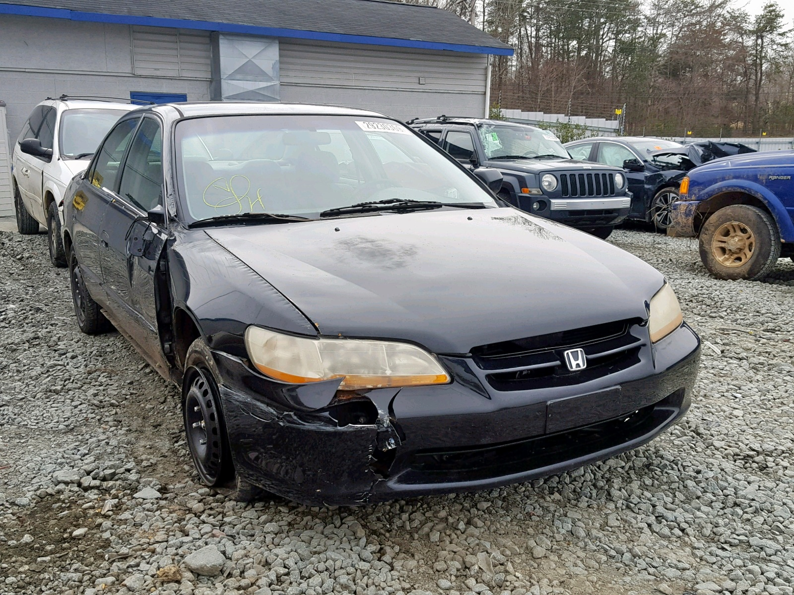 Salvage 1999 Honda ACCORD LX for sale