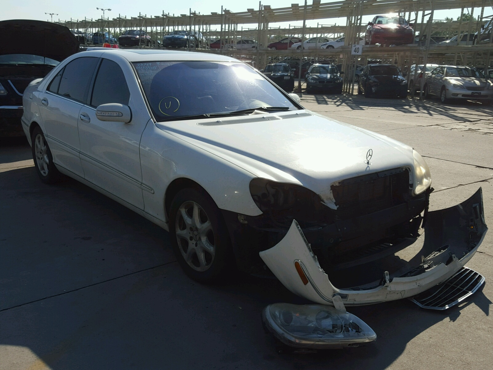 Salvage 2003 Mercedes-Benz S 500 4MATIC for sale