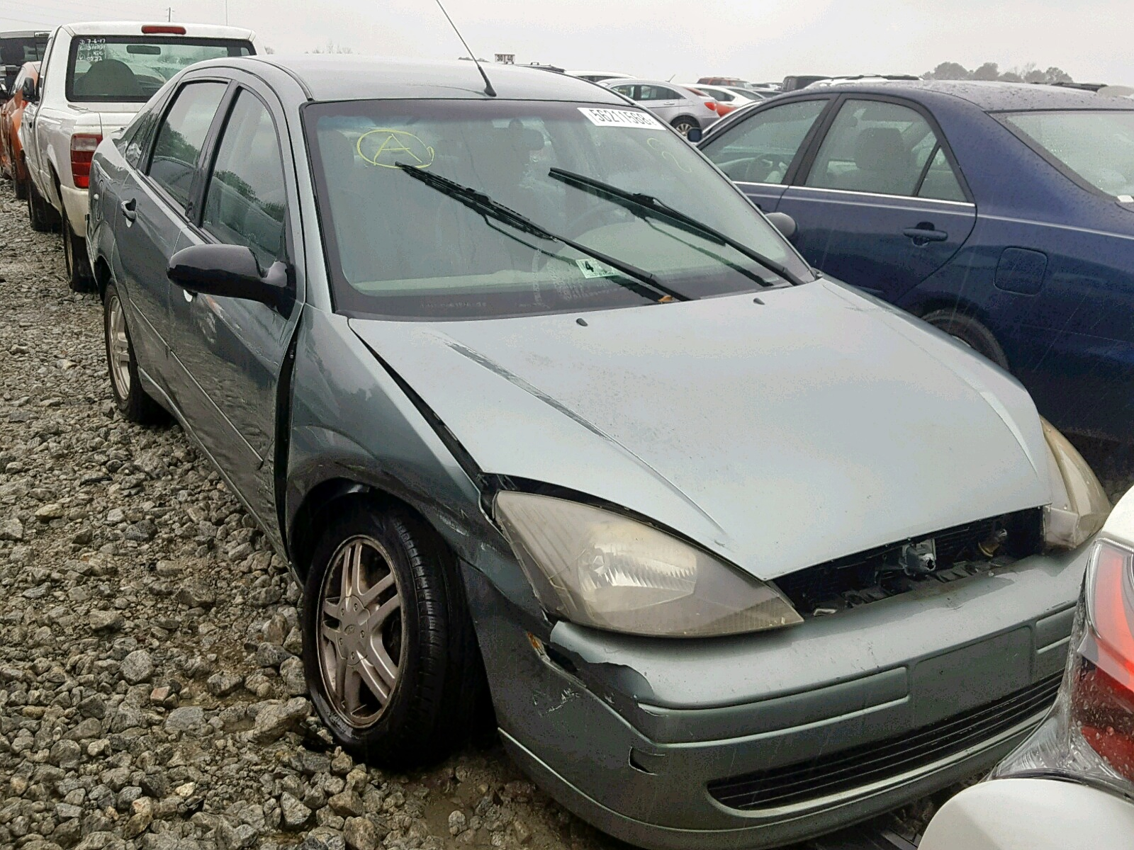 Salvage 2004 Ford FOCUS SE C for sale