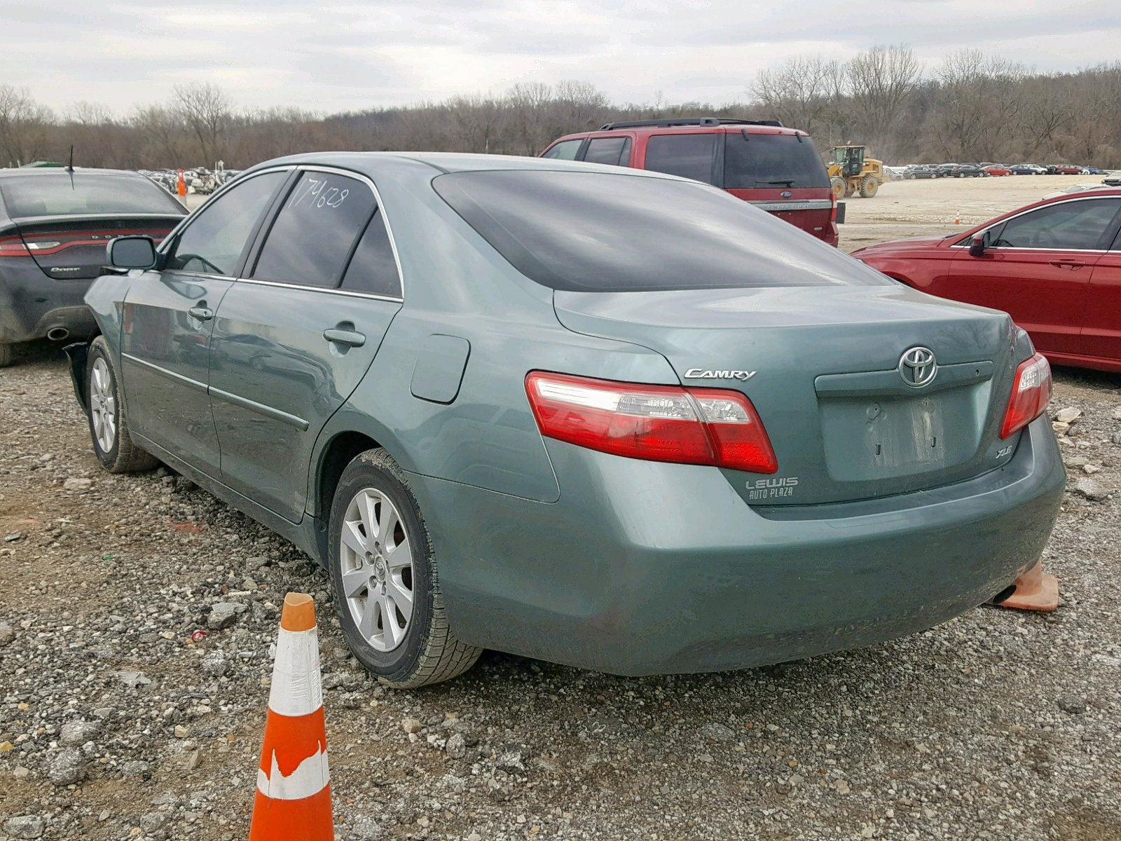 4t1be46k77u520642 2007 Toyota Camry New 2 4l Angle View