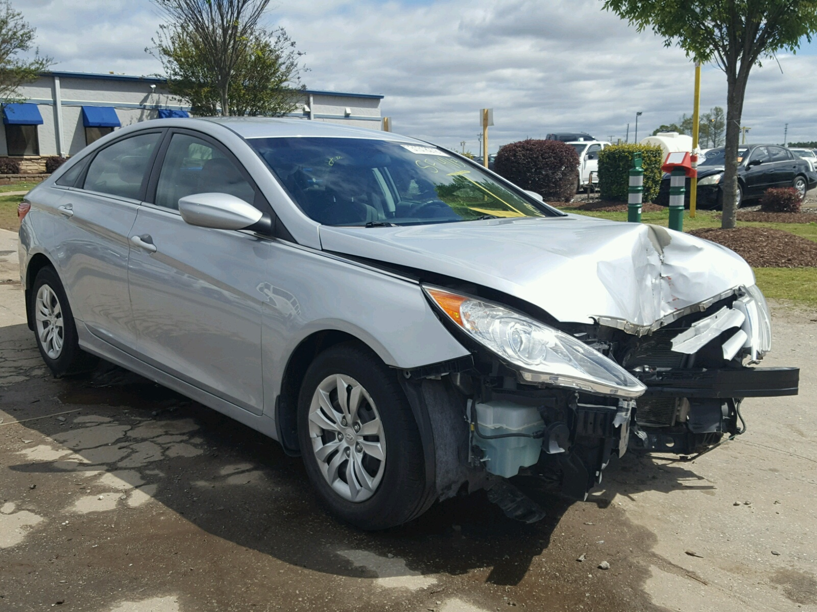 lot carfinder of auctions copart gls hyundai greer title online sc red sale salvage on auto in accent cert en