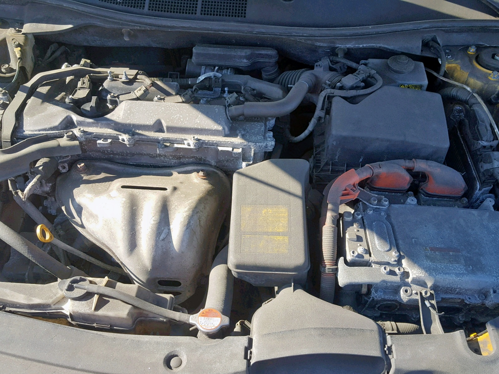 2012 Toyota Camry Hybr 2.5L inside view