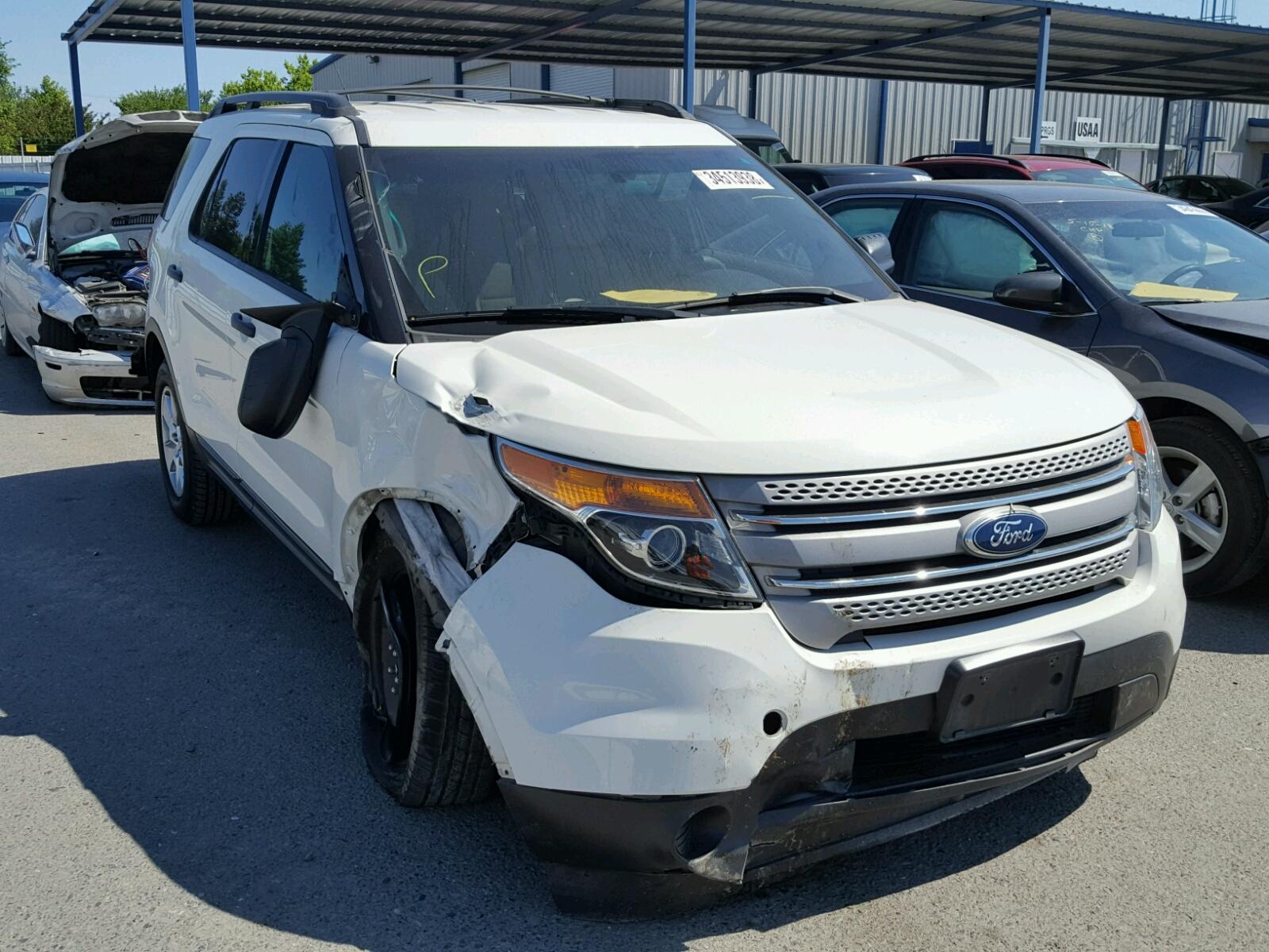 2012 Ford Explorer for sale at Copart Sacramento CA Lot