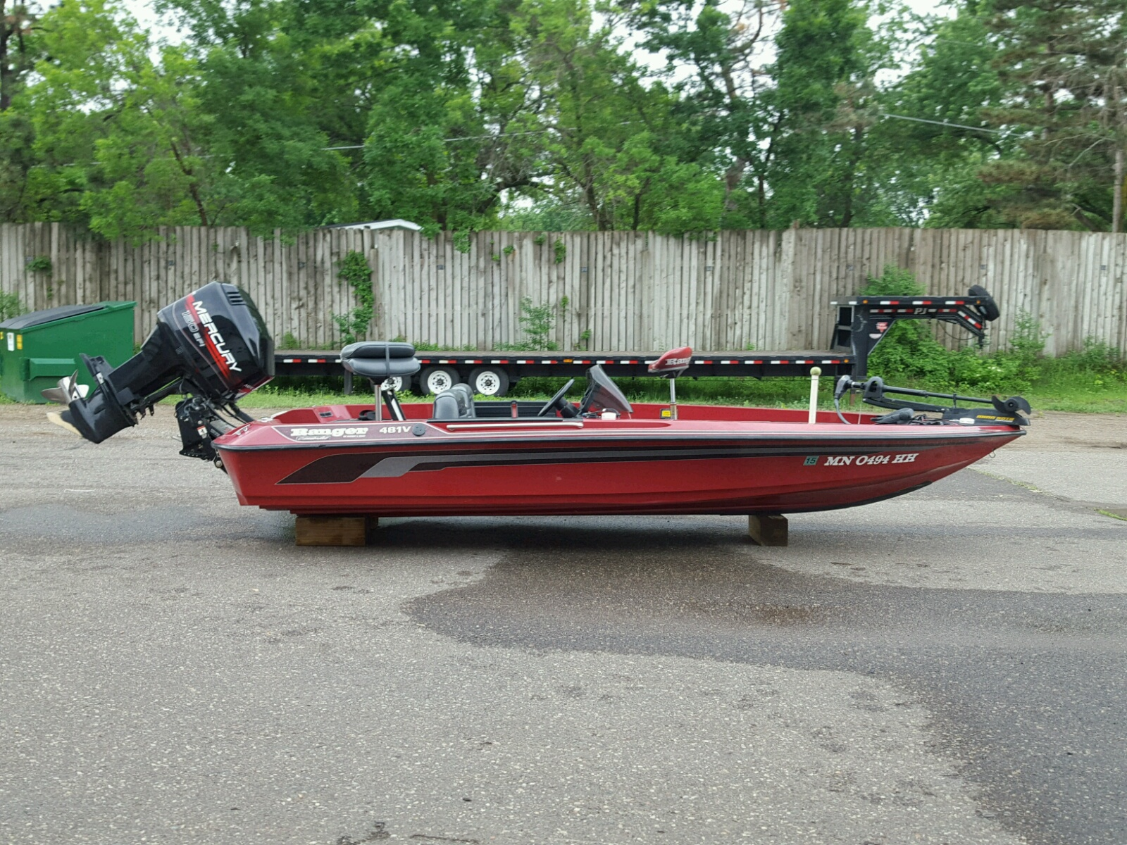 Salvage 1997 Ranger Boat COMANCHE for sale