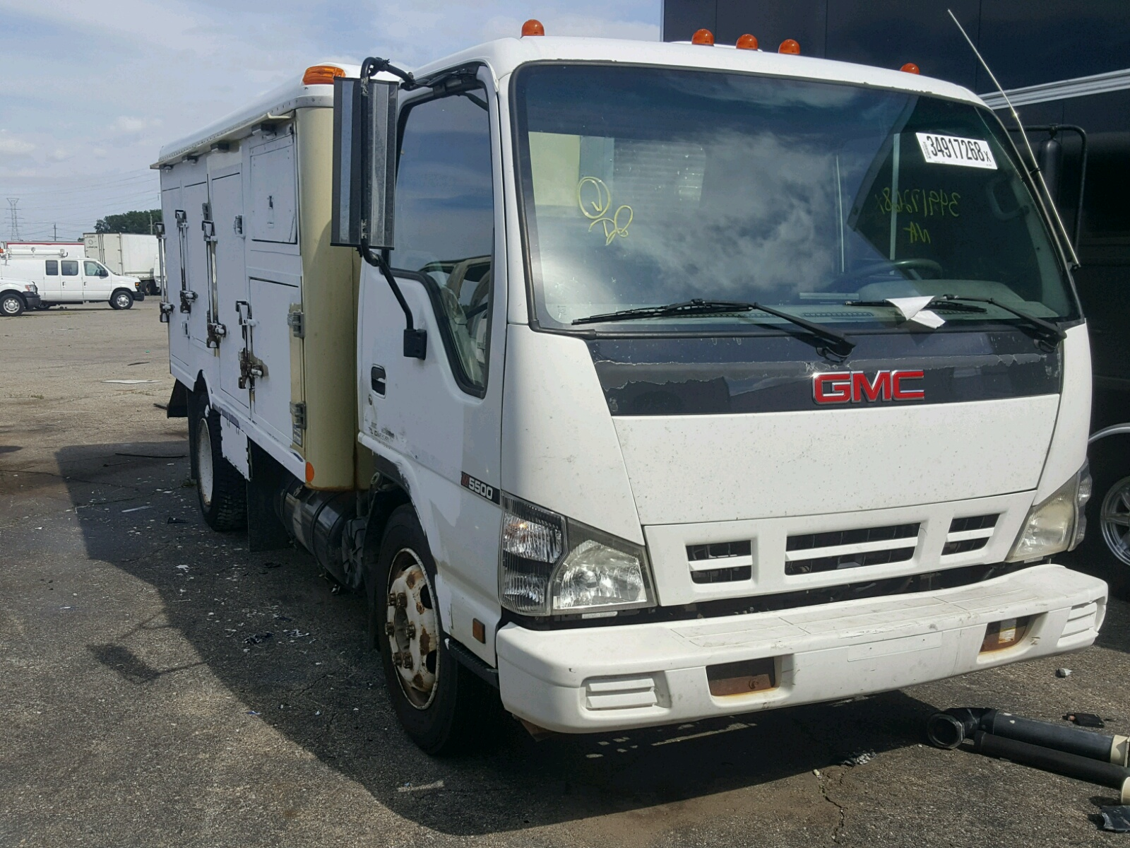 Salvage 2006 GMC 5500 W5504 for sale
