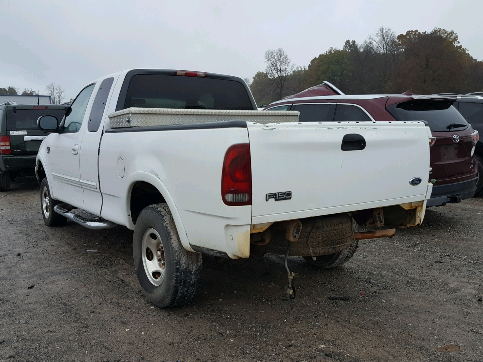 1999 ford f150 4 6l angle view