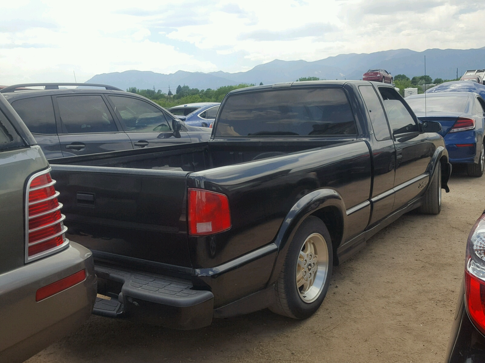 2003 chevrolet s truck s1 4 3l 6 in co colorado springs 1gccs19x838144897 for sale. Black Bedroom Furniture Sets. Home Design Ideas