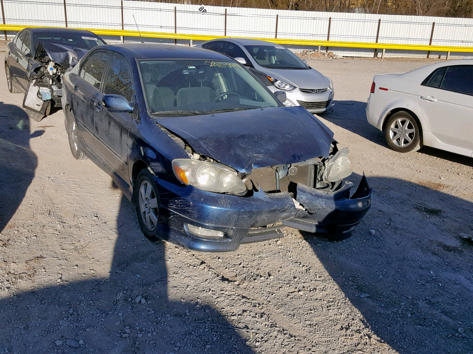 Salvage 2008 Toyota COROLLA CE for sale