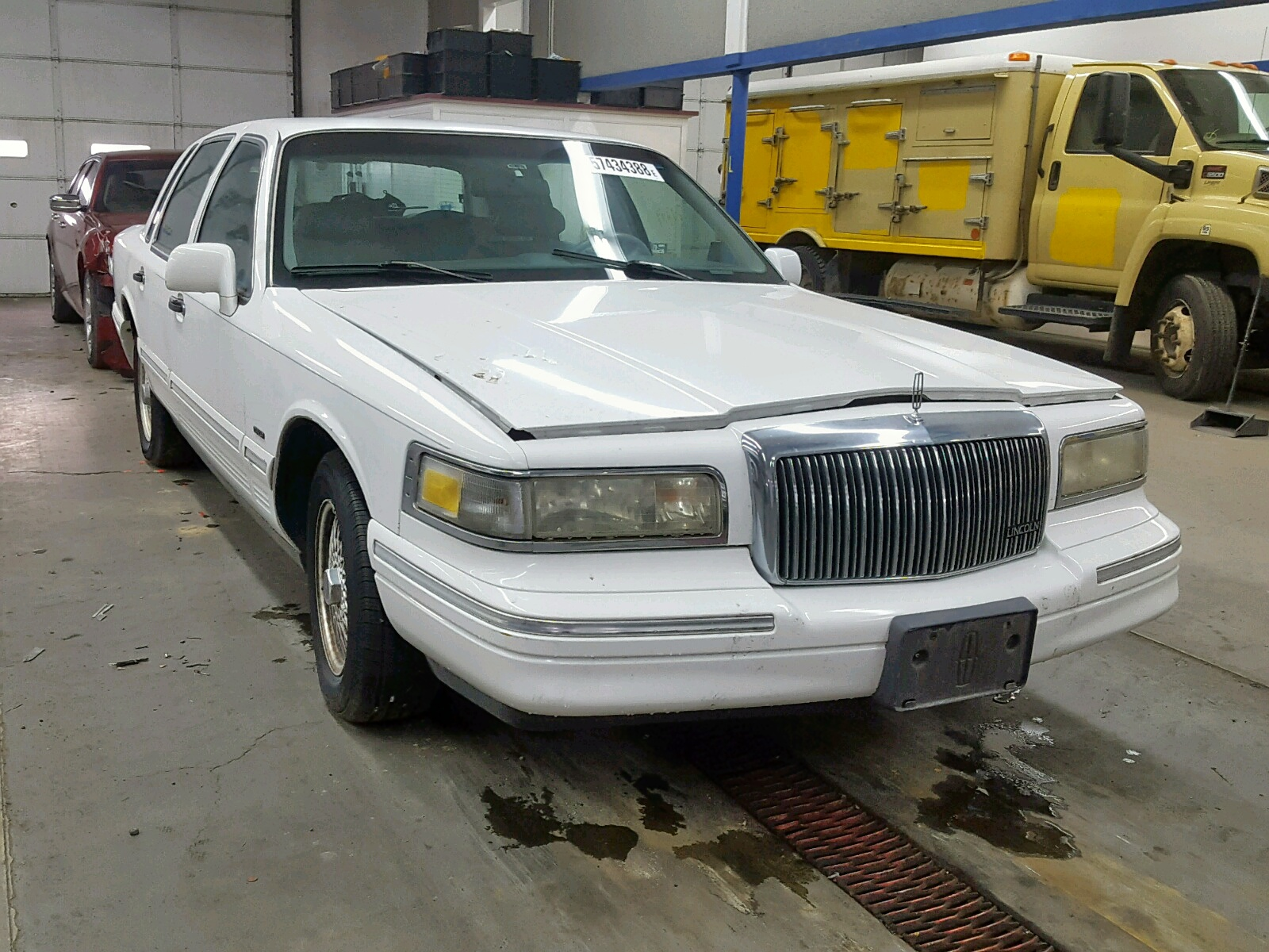 1995 Lincoln Town Car S For Sale At Copart Pasco Wa Lot 57434388