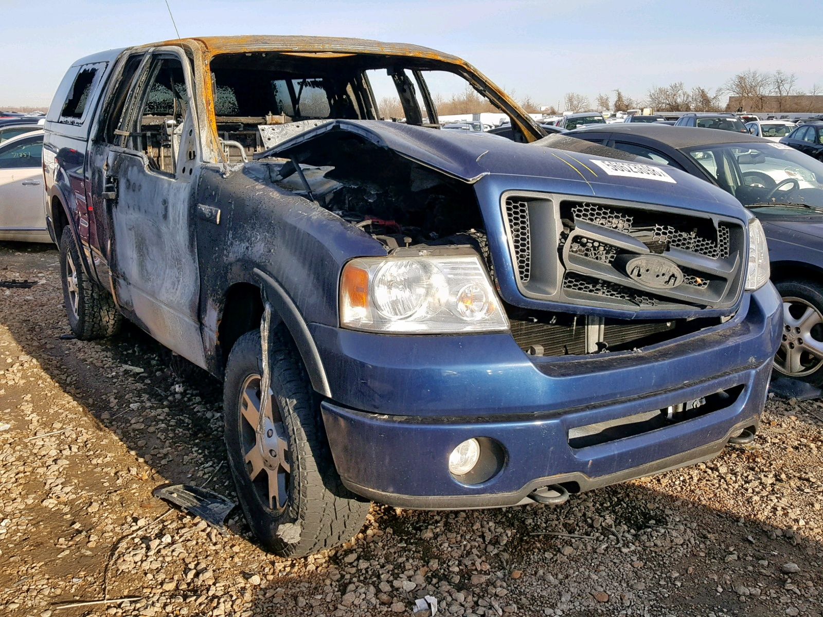 Salvage 2008 Ford F150 for sale