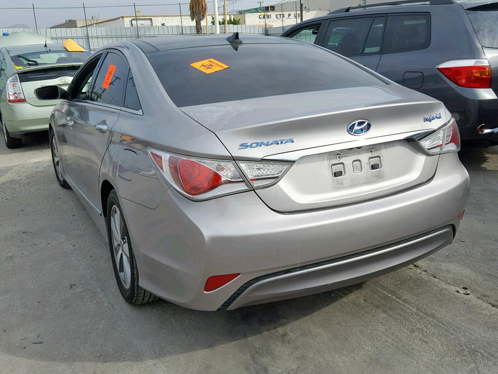 2012 Hyundai Sonata Hyb 2.4L [Angle] View