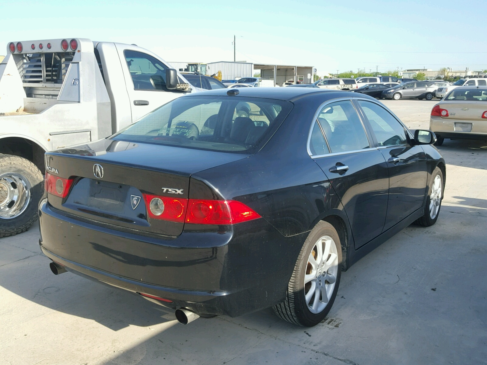 2007 Acura Tsx - Front End Damage - JH4CL96847C013931 (Sold) on