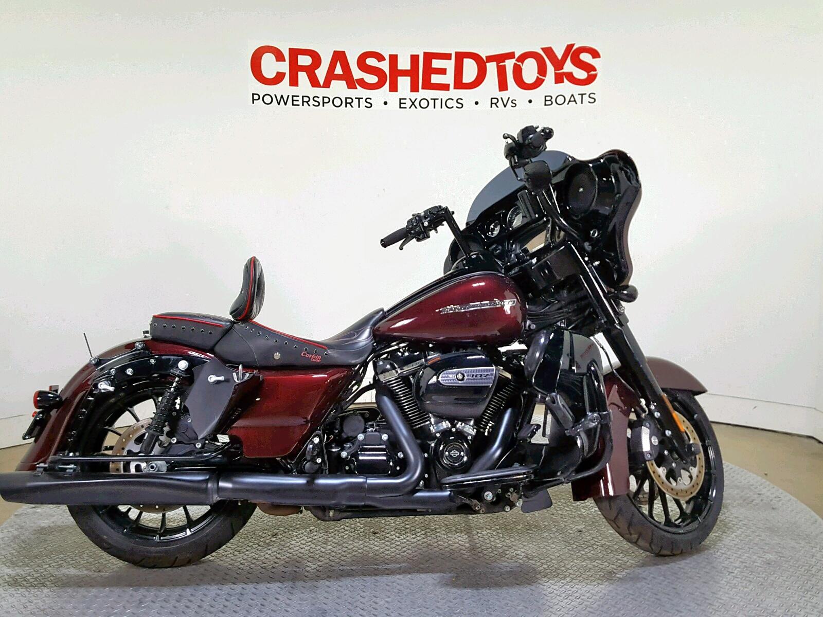 Salvage 2018 Harley-Davidson FLHXS STREET for sale
