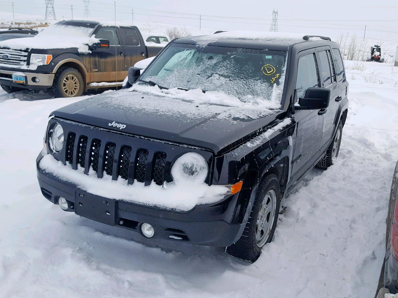 2014 Jeep Patriot Sp 2.0L Right View